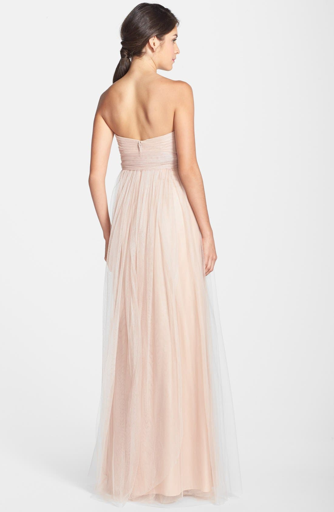 Annabelle Convertible Tulle Column Dress,                             Alternate thumbnail 153, color,
