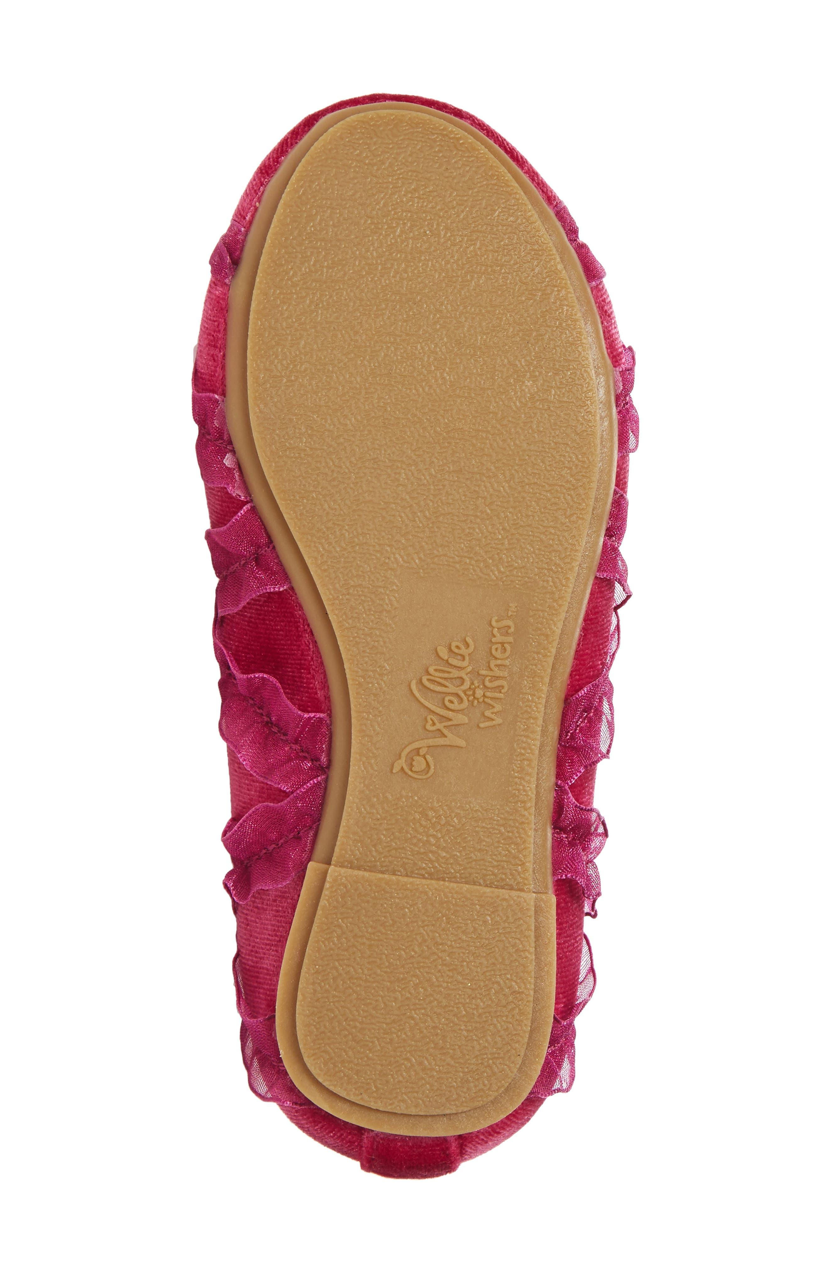 Emerson Ankle Strap Ballet Flat,                             Alternate thumbnail 6, color,                             650
