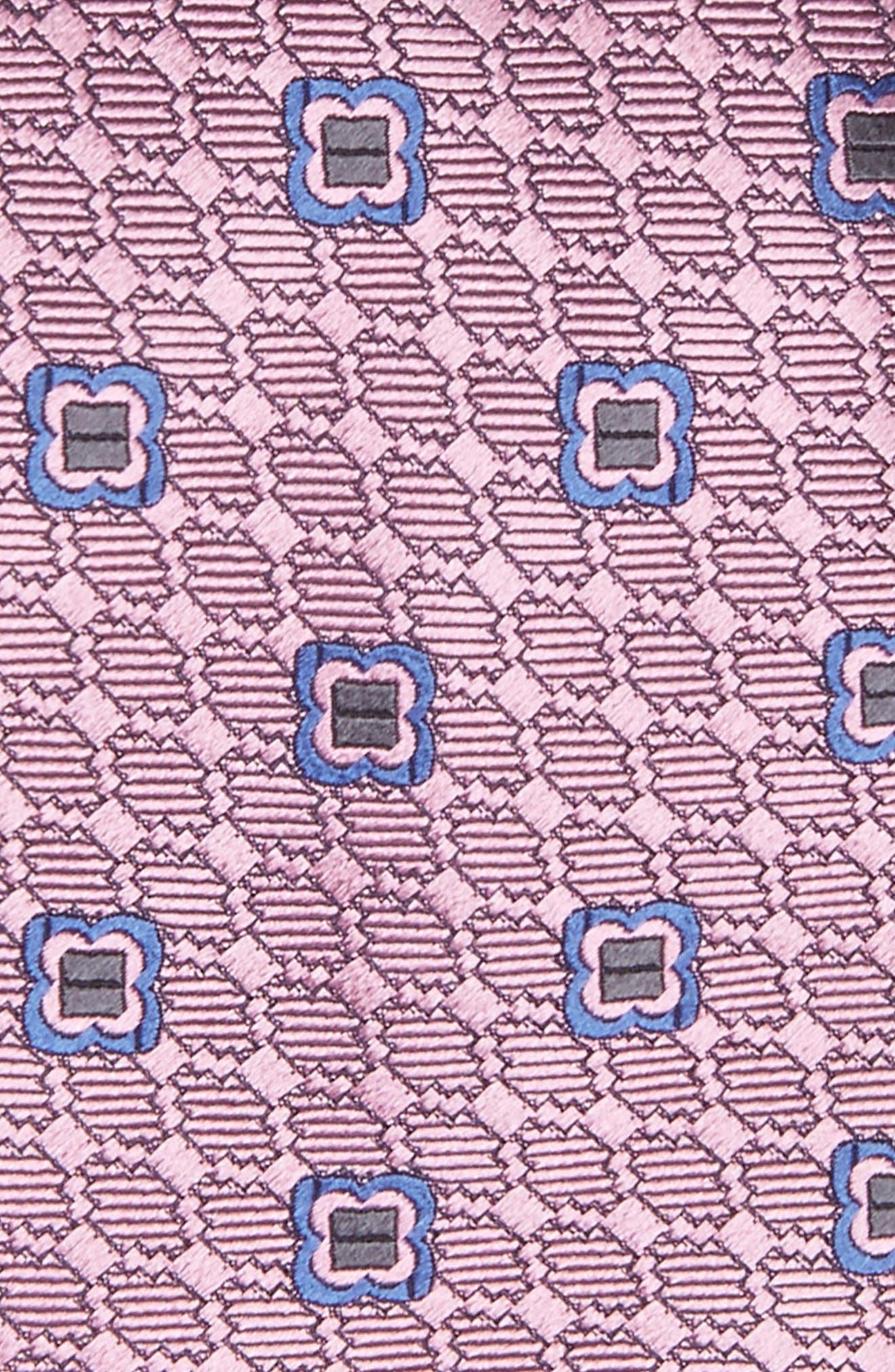 Geometric Silk Tie,                             Alternate thumbnail 2, color,                             662