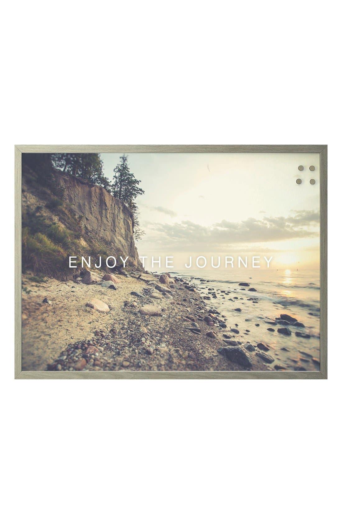 'Enjoy the Journey' Magnet Board,                             Main thumbnail 1, color,                             200