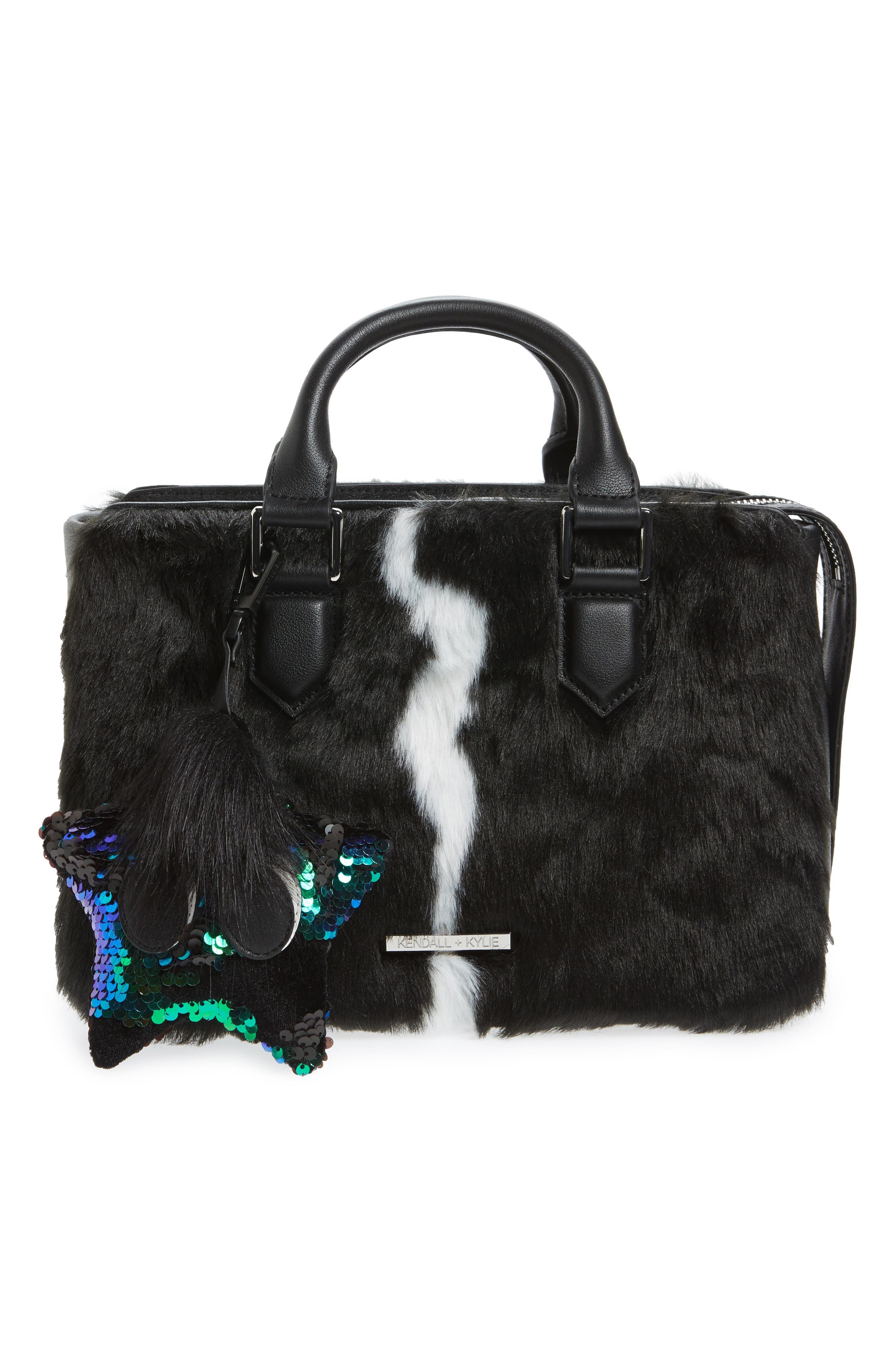 Starboy Sequin Bag Charm,                             Alternate thumbnail 3, color,