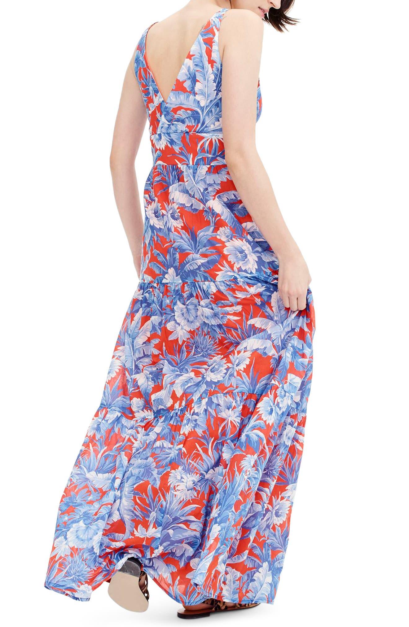 Ratti V-Neck Maxi Dress,                             Alternate thumbnail 2, color,                             400