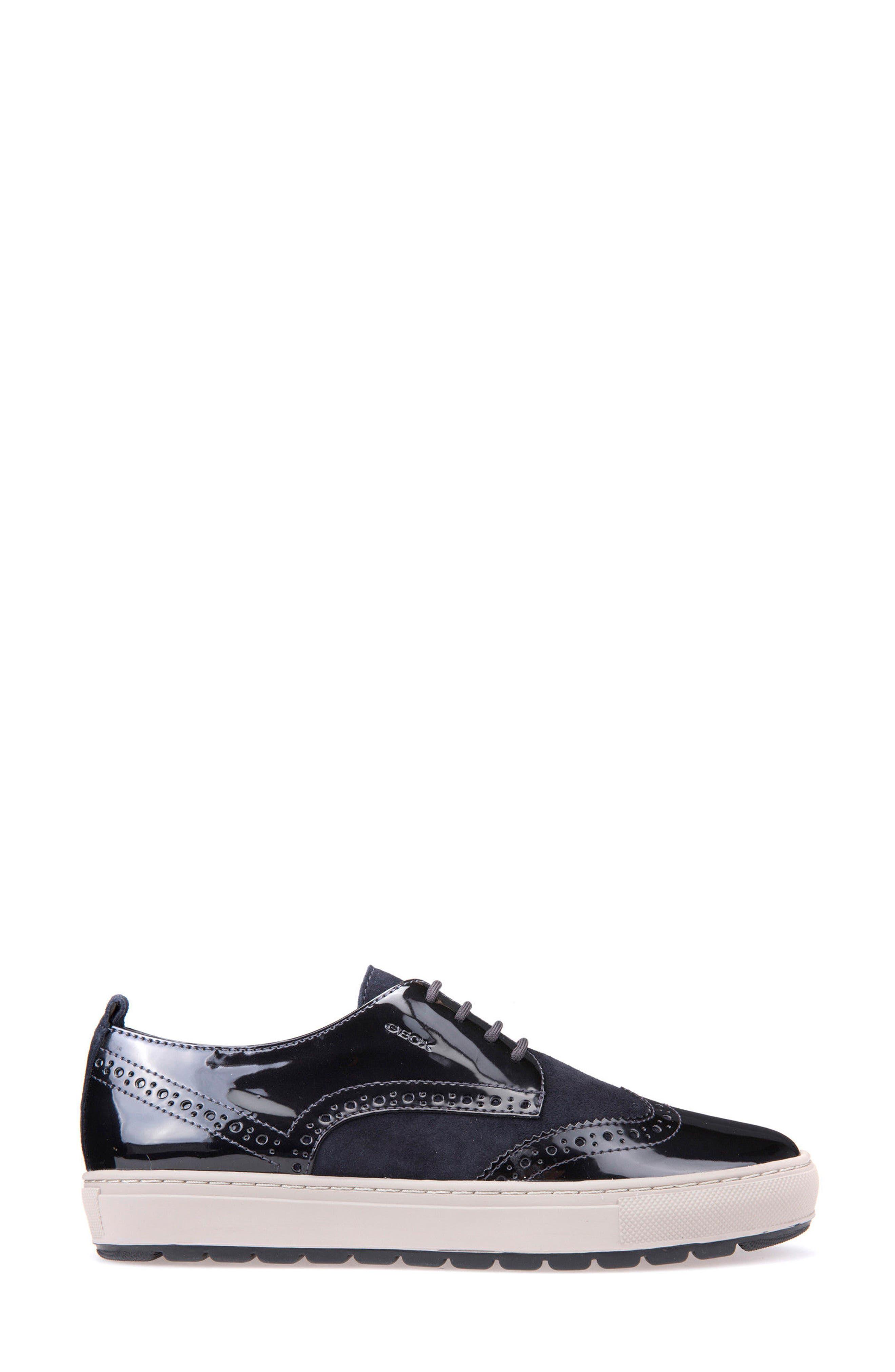Breeda Oxford Sneaker,                             Alternate thumbnail 3, color,                             400
