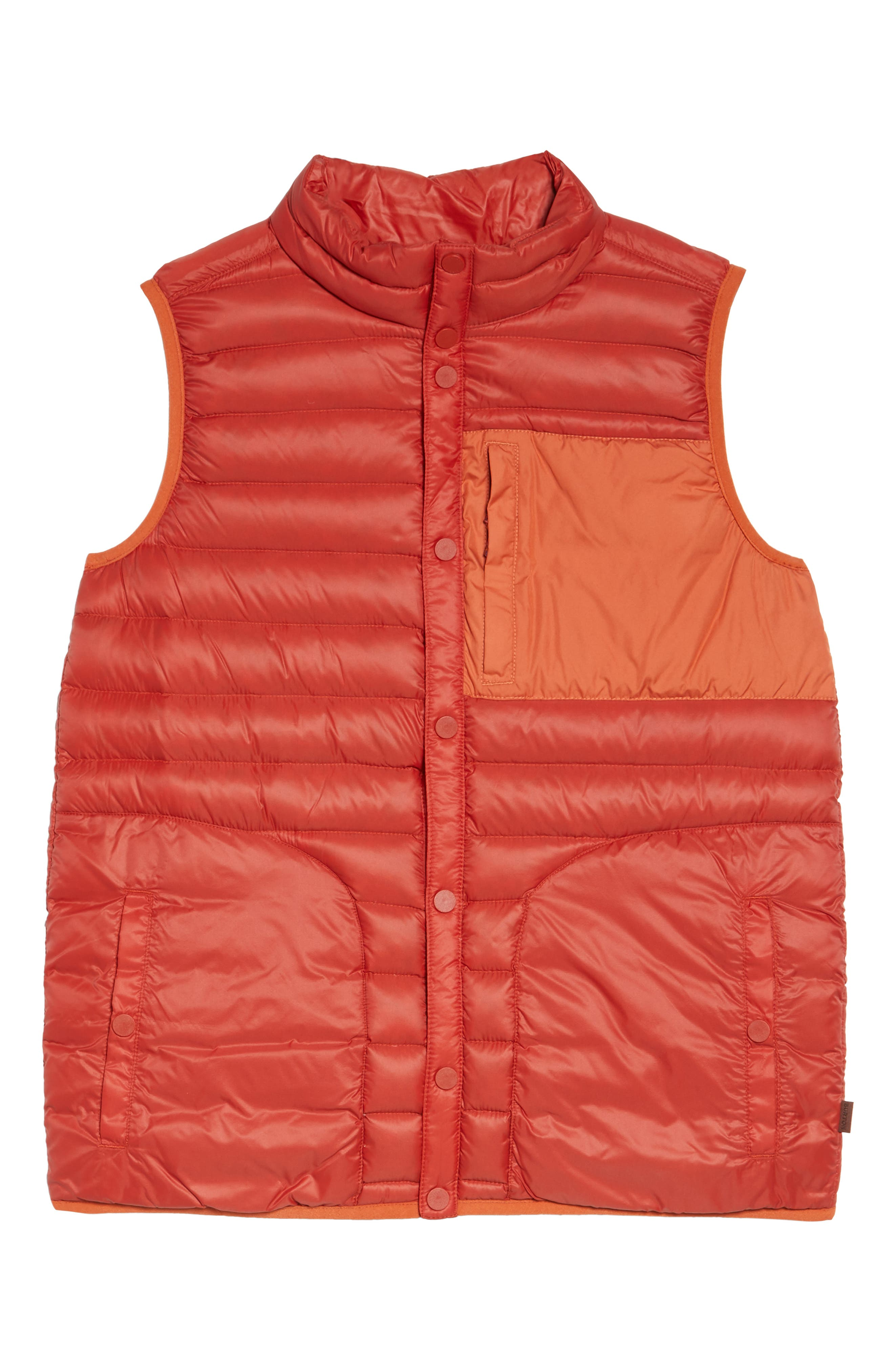 Evergreen Water-Resistant Down Insulator Vest,                             Alternate thumbnail 10, color,