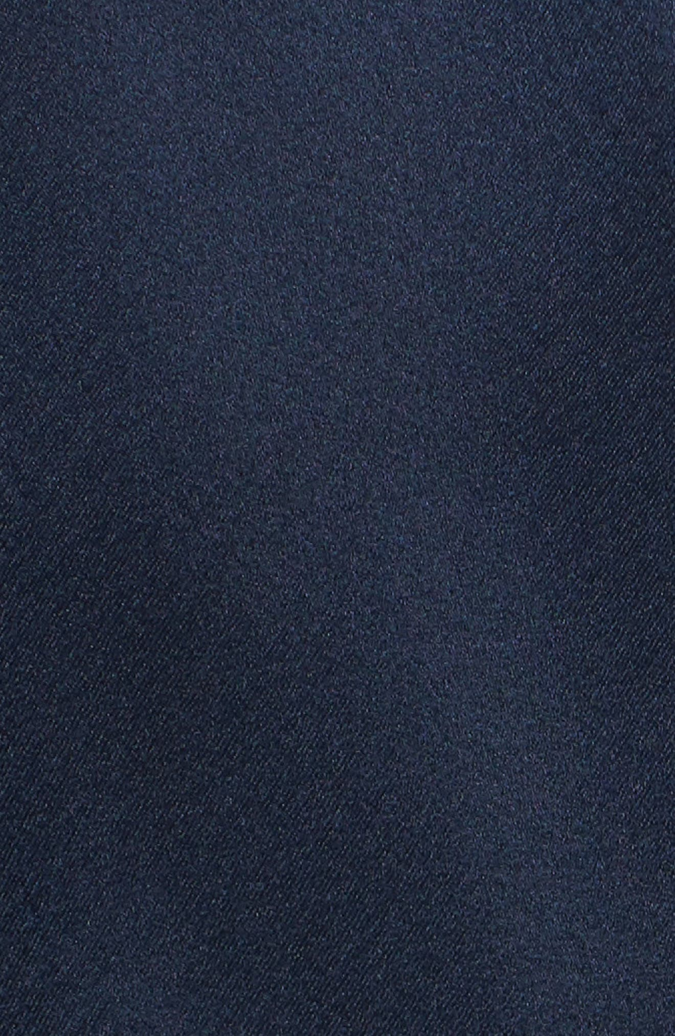 Pillar Satin Dress,                             Alternate thumbnail 5, color,                             400