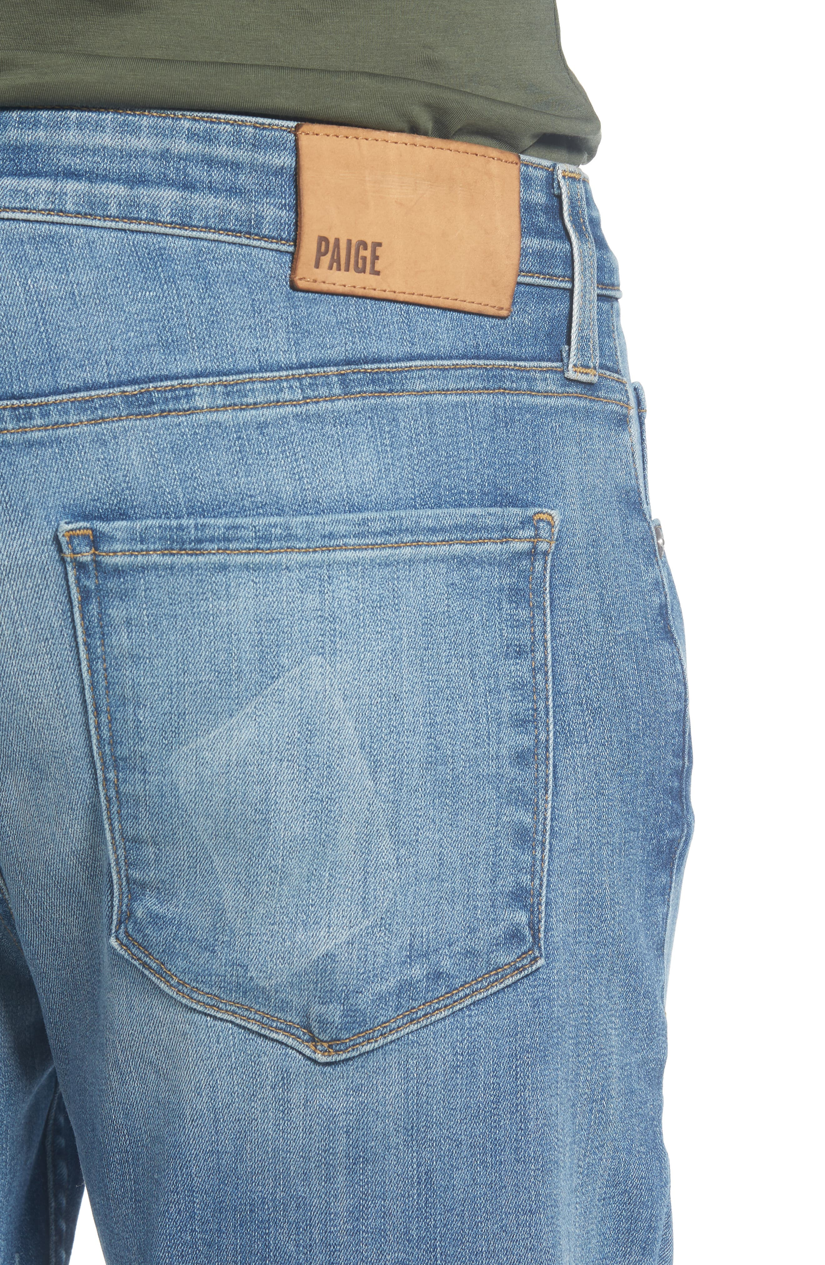 Transcend - Lennox Slim Fit Jeans,                             Alternate thumbnail 4, color,                             CARTWRIGHT