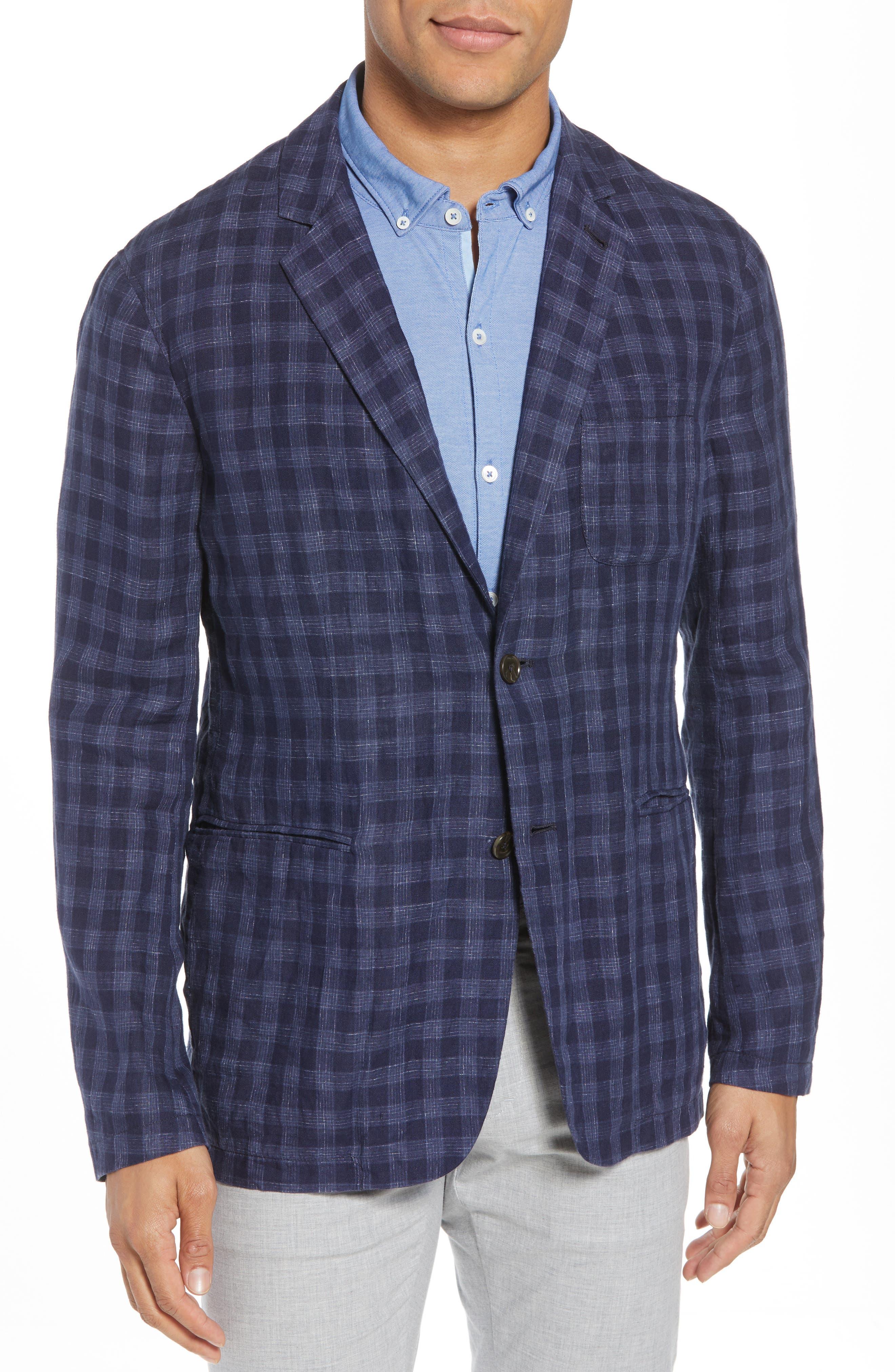 Bowser Regular Fit Sport Coat,                         Main,                         color, NAVY