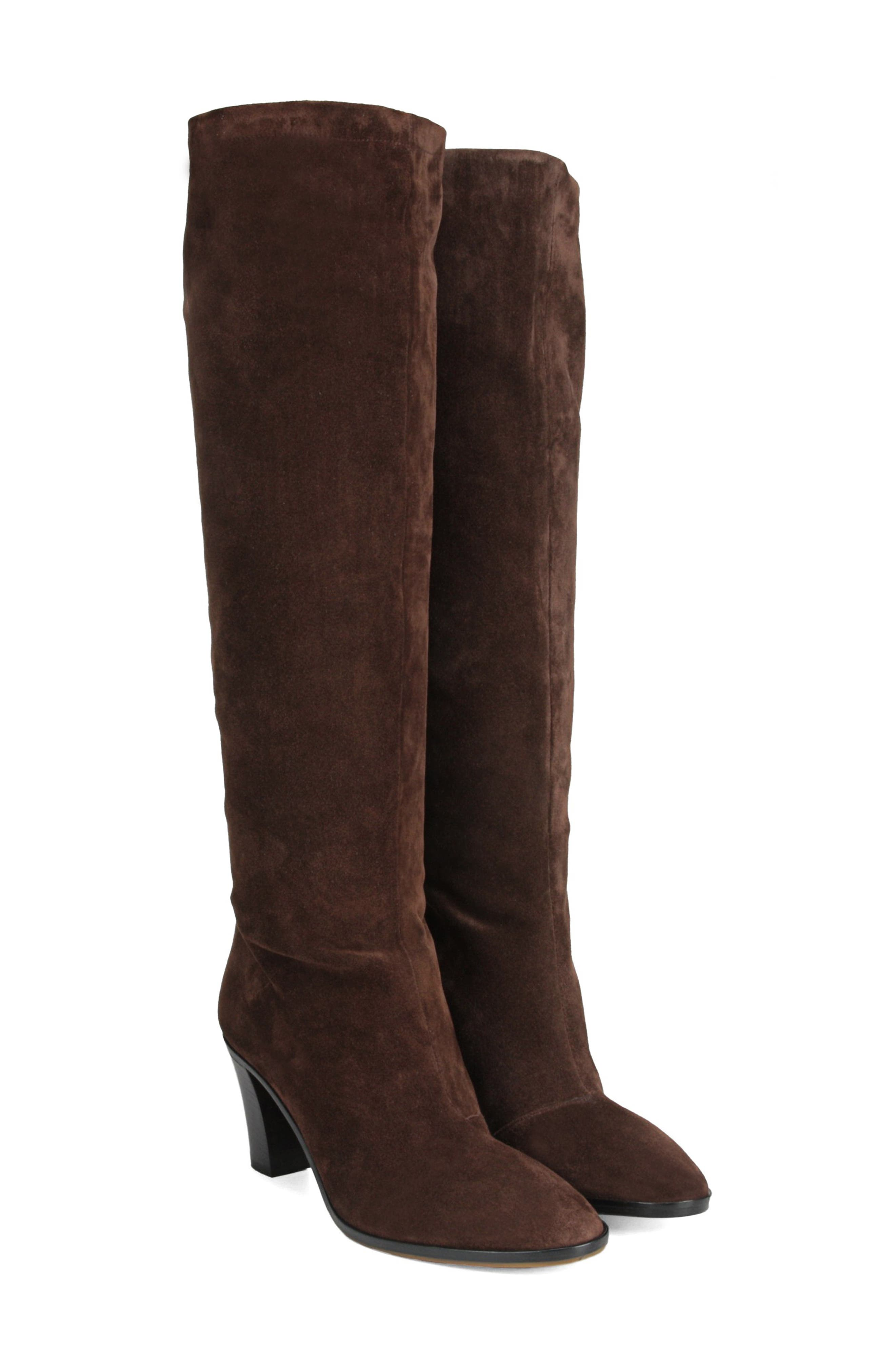 Casper Knee High Pull-On Boot,                             Alternate thumbnail 7, color,                             COTTO BROWN