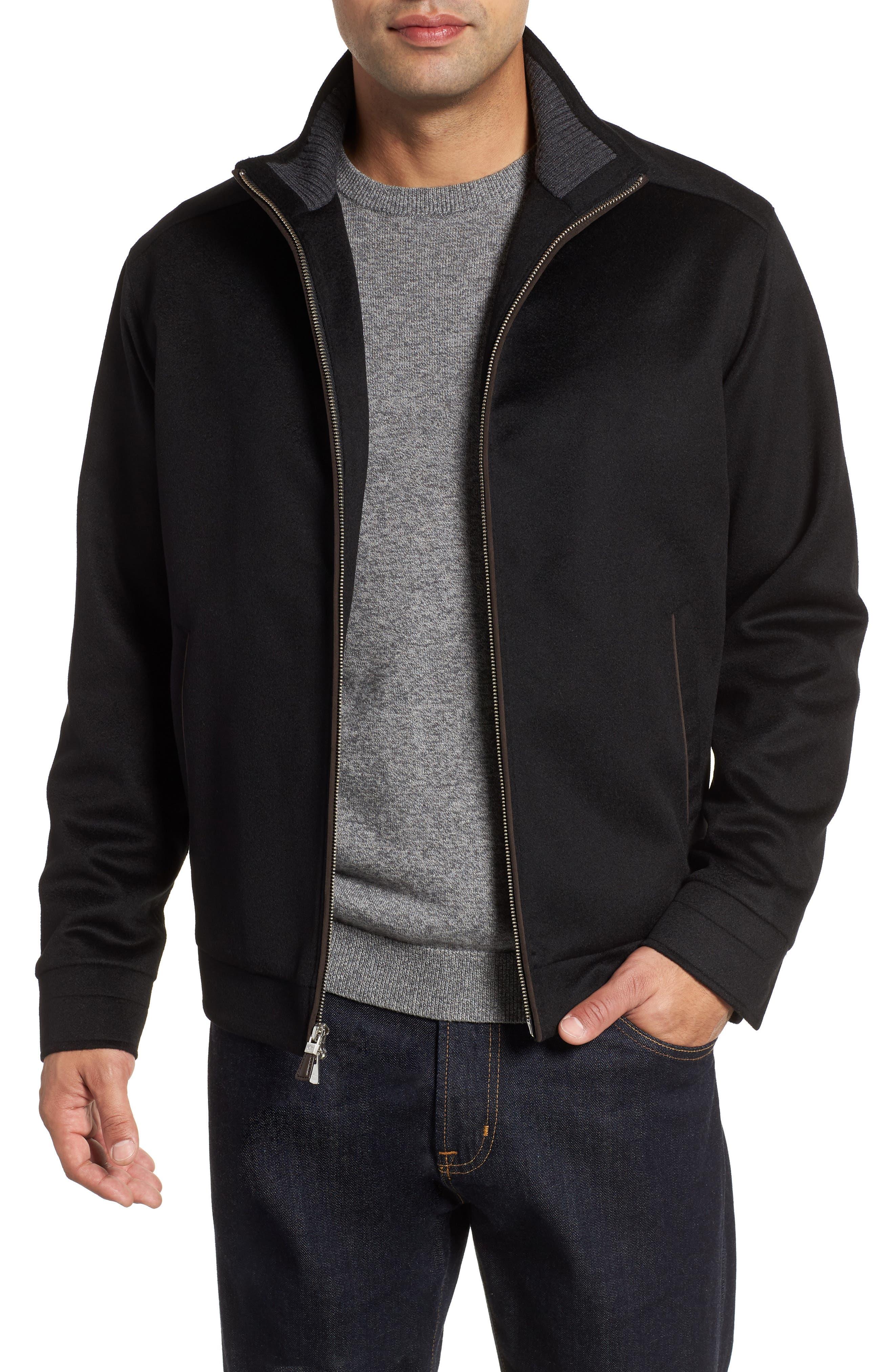 Westport Crown Wool & Cashmere Jacket, Main, color, 001