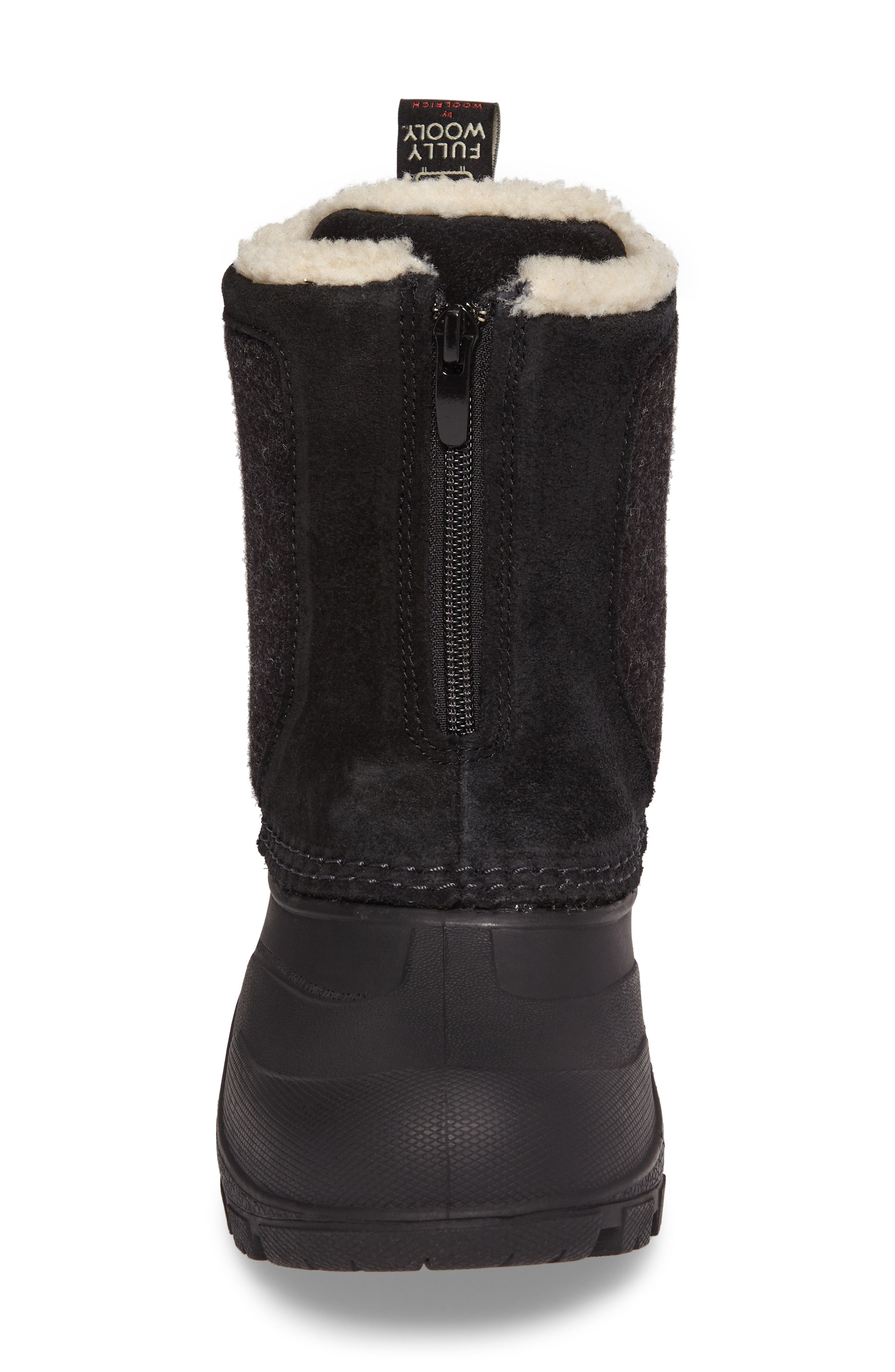 Fully Wooly Icecat Waterproof Insulated Winter Boot,                             Alternate thumbnail 4, color,                             001