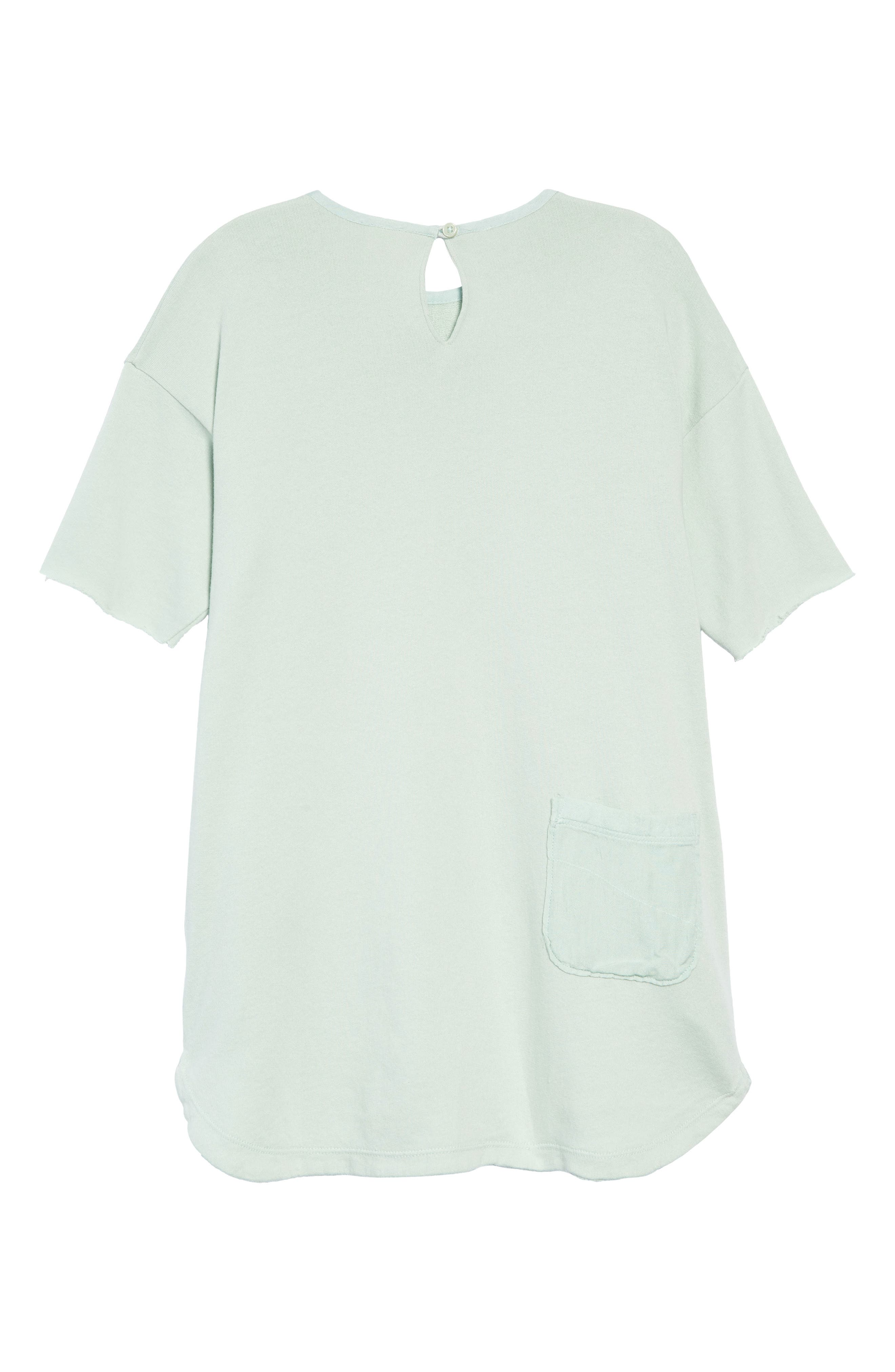 Graphic T-Shirt Dress,                             Alternate thumbnail 2, color,                             GREEN FONDANT HAVE FUN