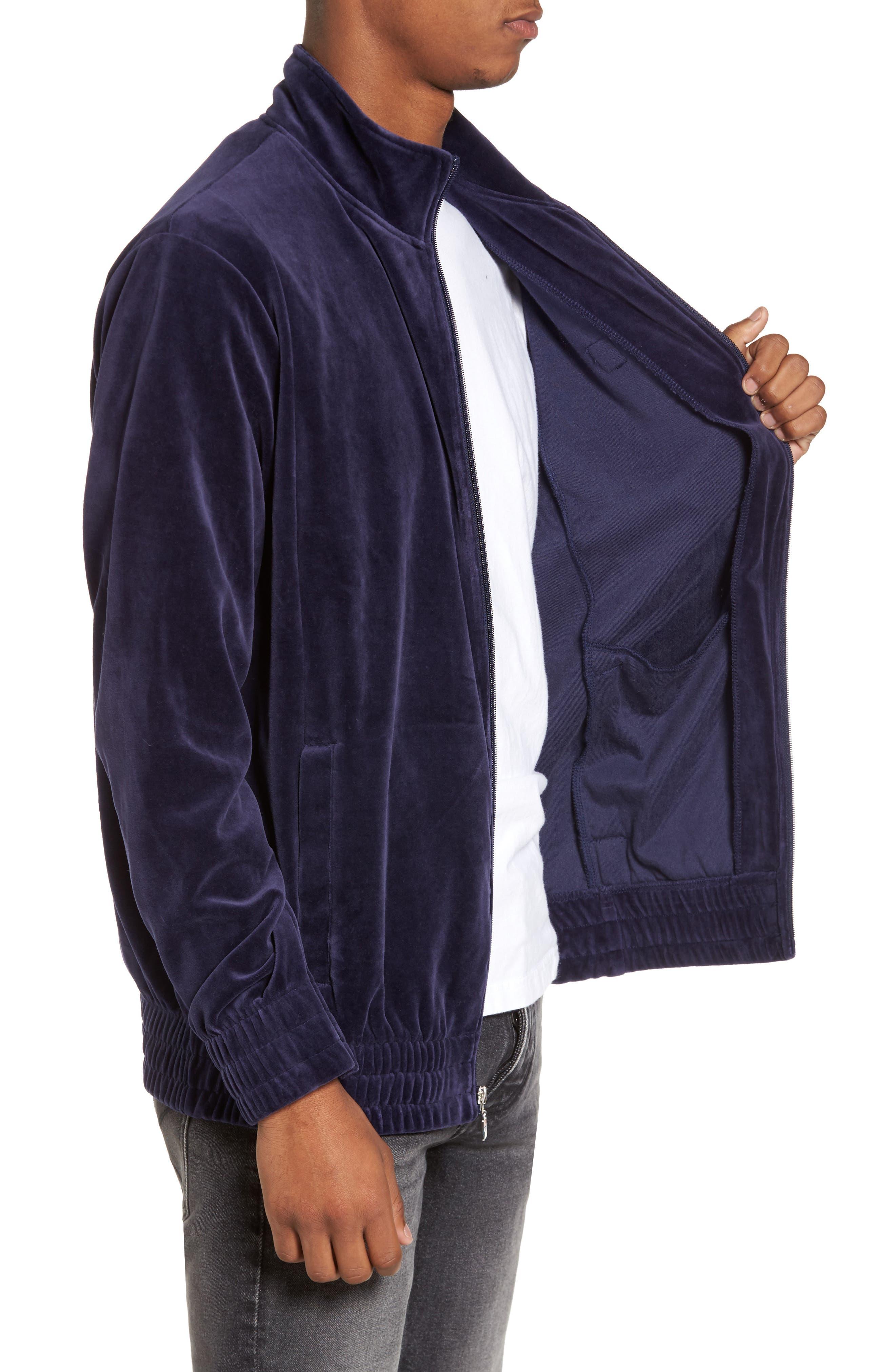 Velour Jacket,                             Alternate thumbnail 9, color,