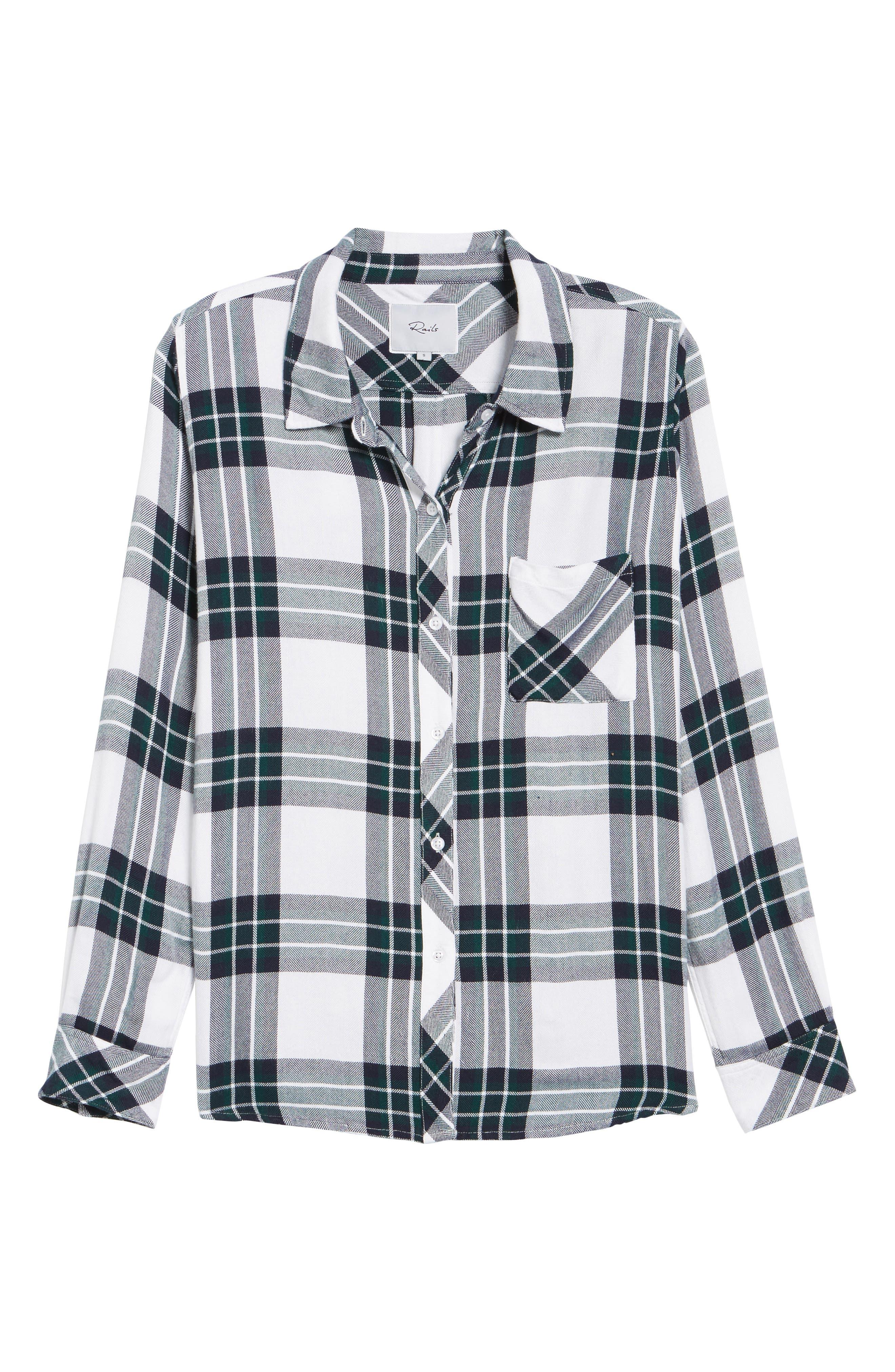 Hunter Plaid Shirt,                             Alternate thumbnail 706, color,