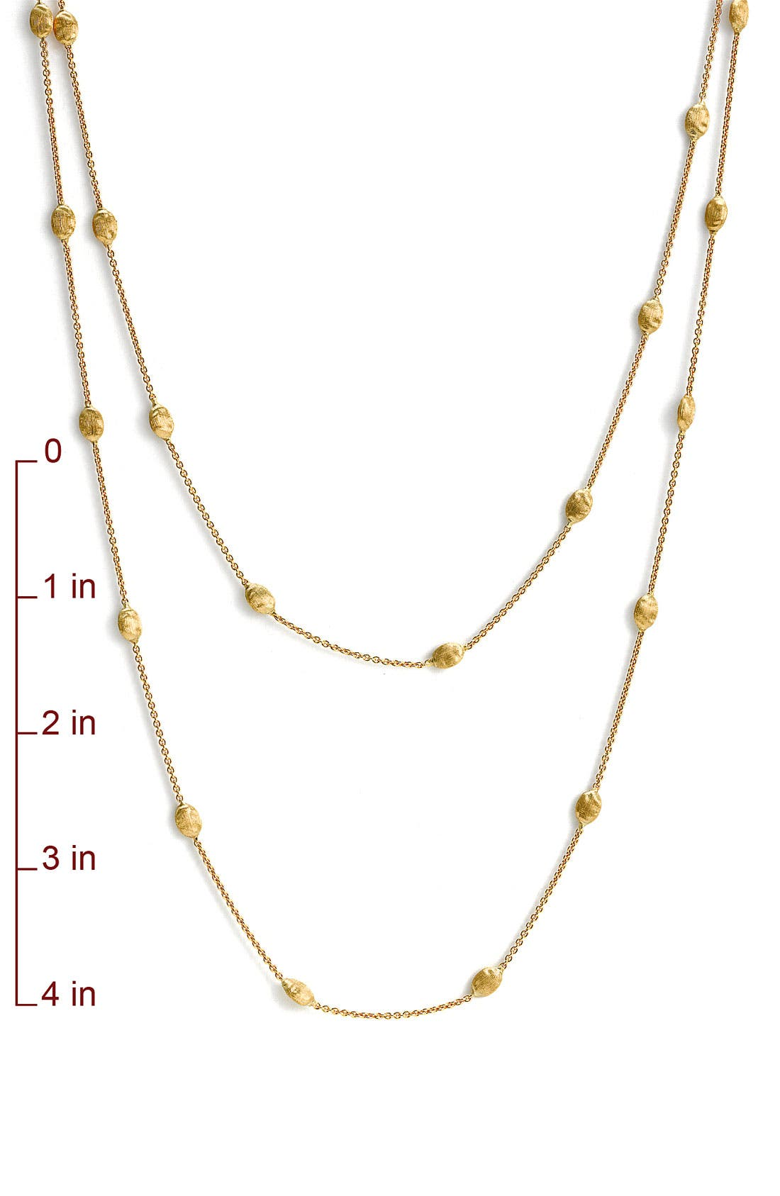 'Siviglia' Long Necklace,                             Alternate thumbnail 2, color,                             YELLOW GOLD
