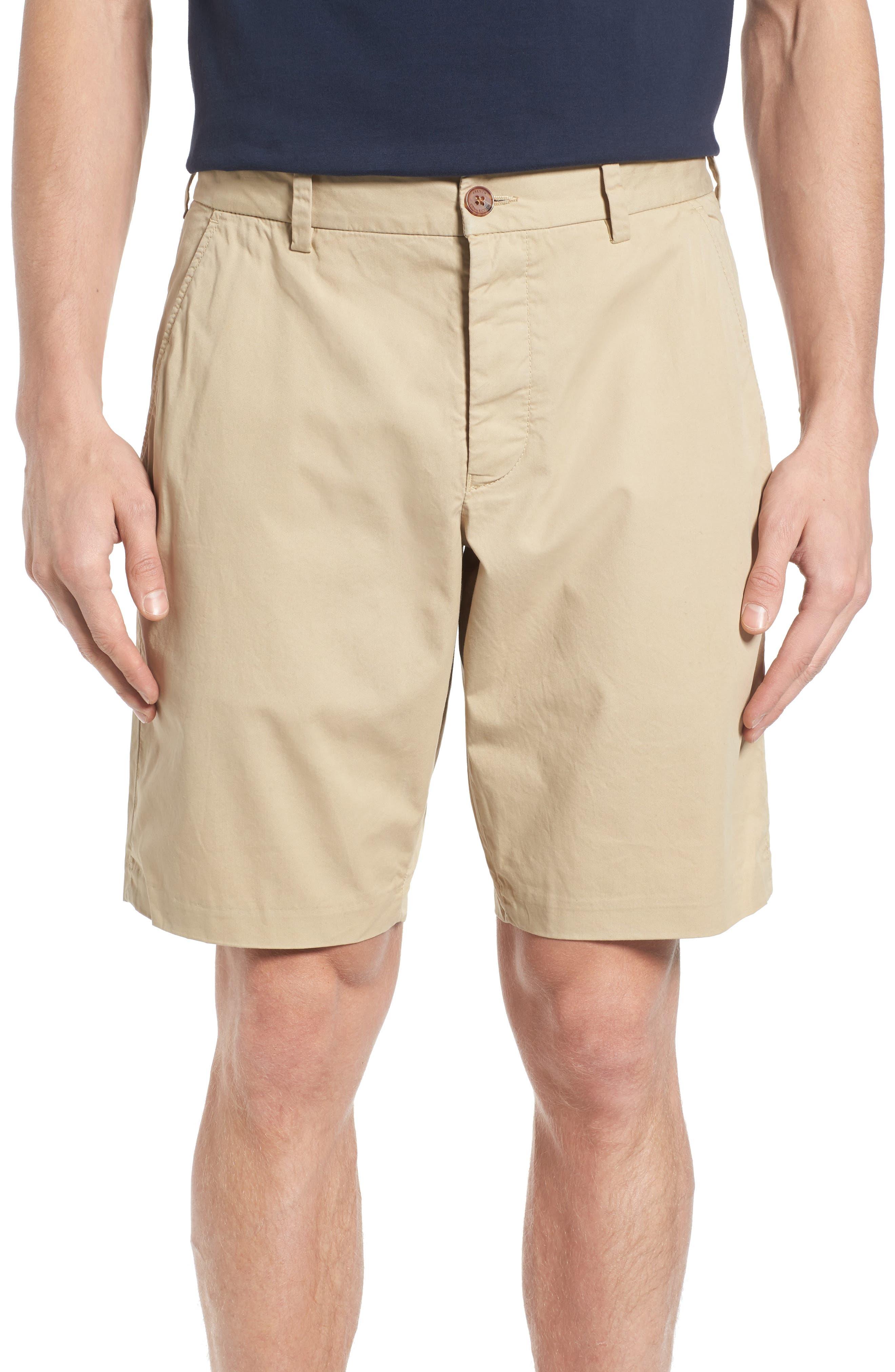 Peach Pie Flat Front Shorts,                         Main,                         color, 260