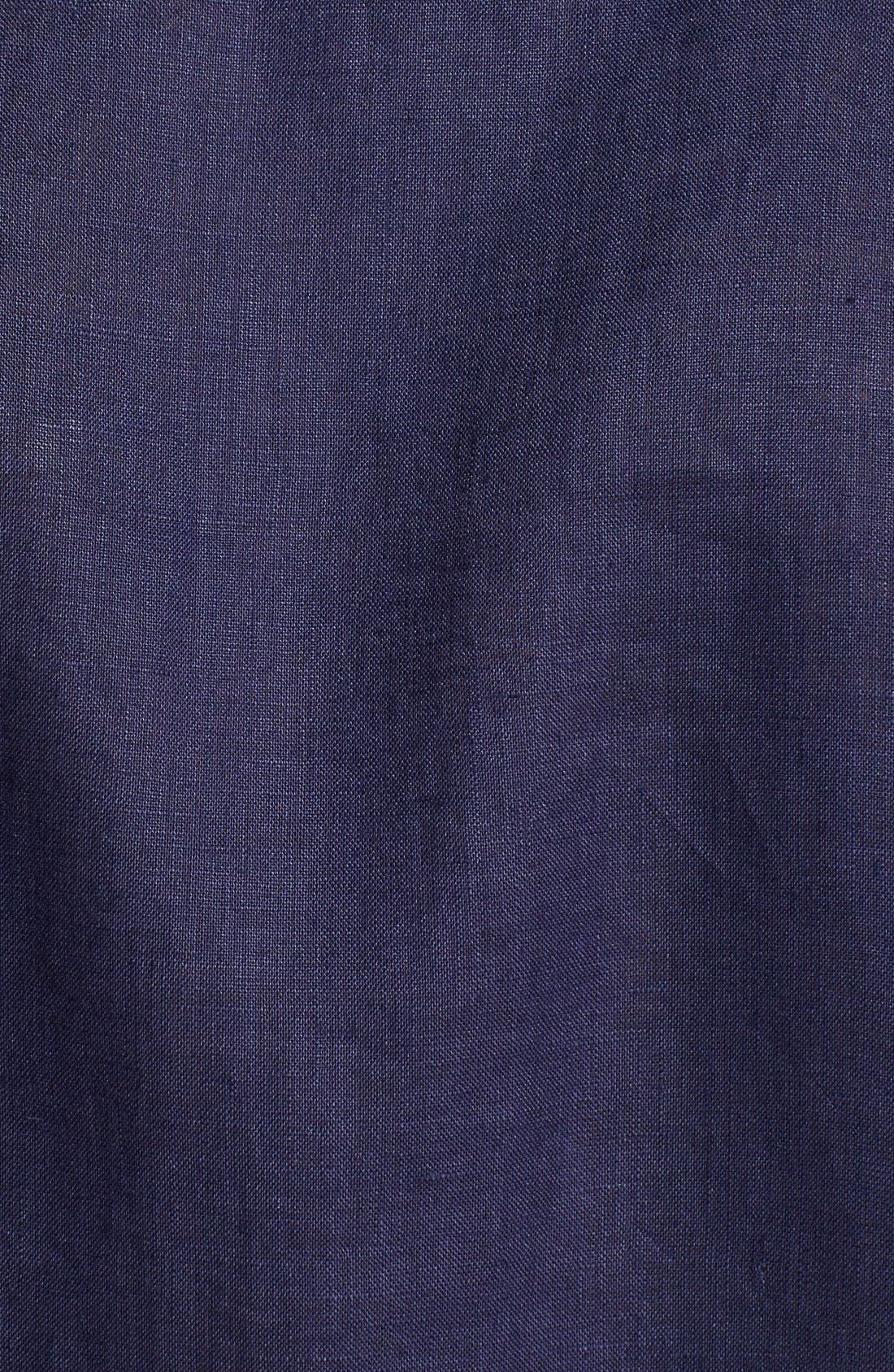 'Caroubier' Linen Shirt,                             Alternate thumbnail 24, color,