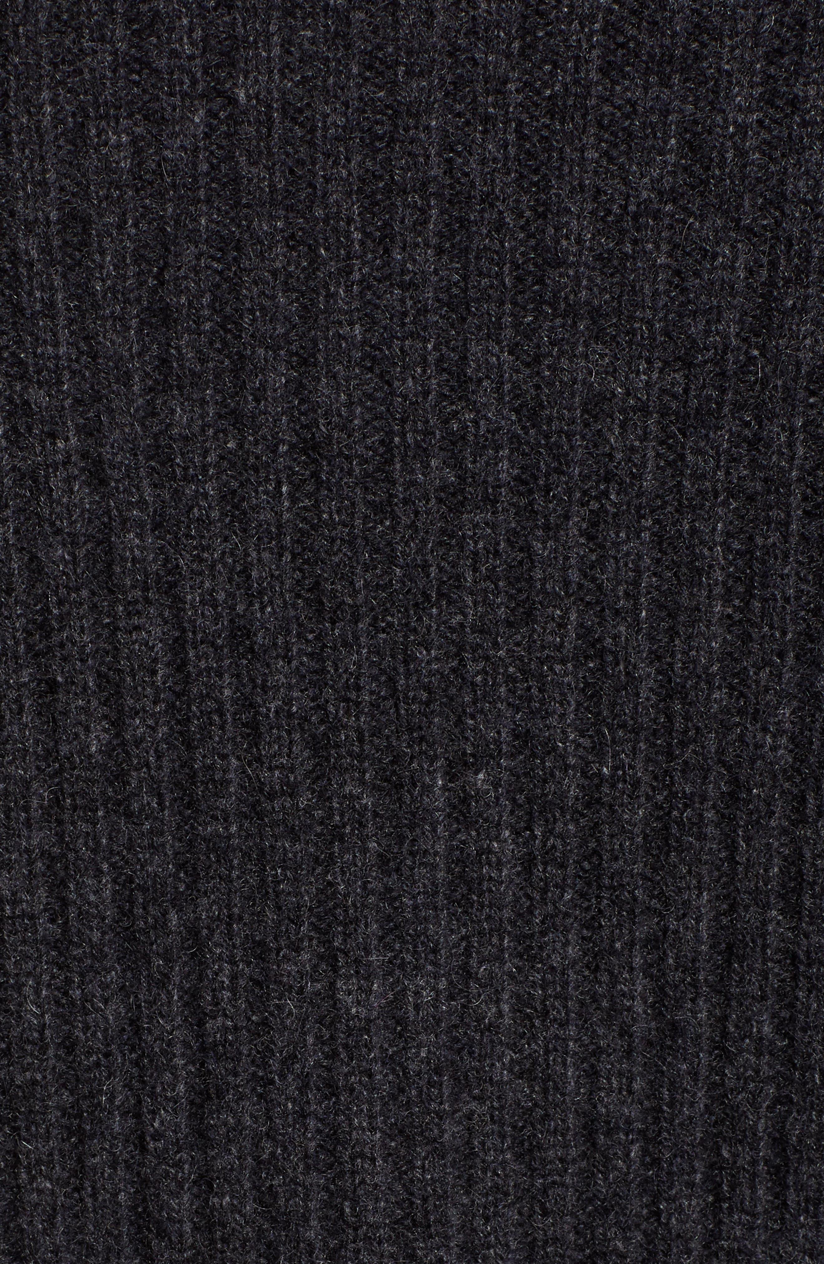 Long Ribbed Cashmere Cardigan,                             Alternate thumbnail 29, color,
