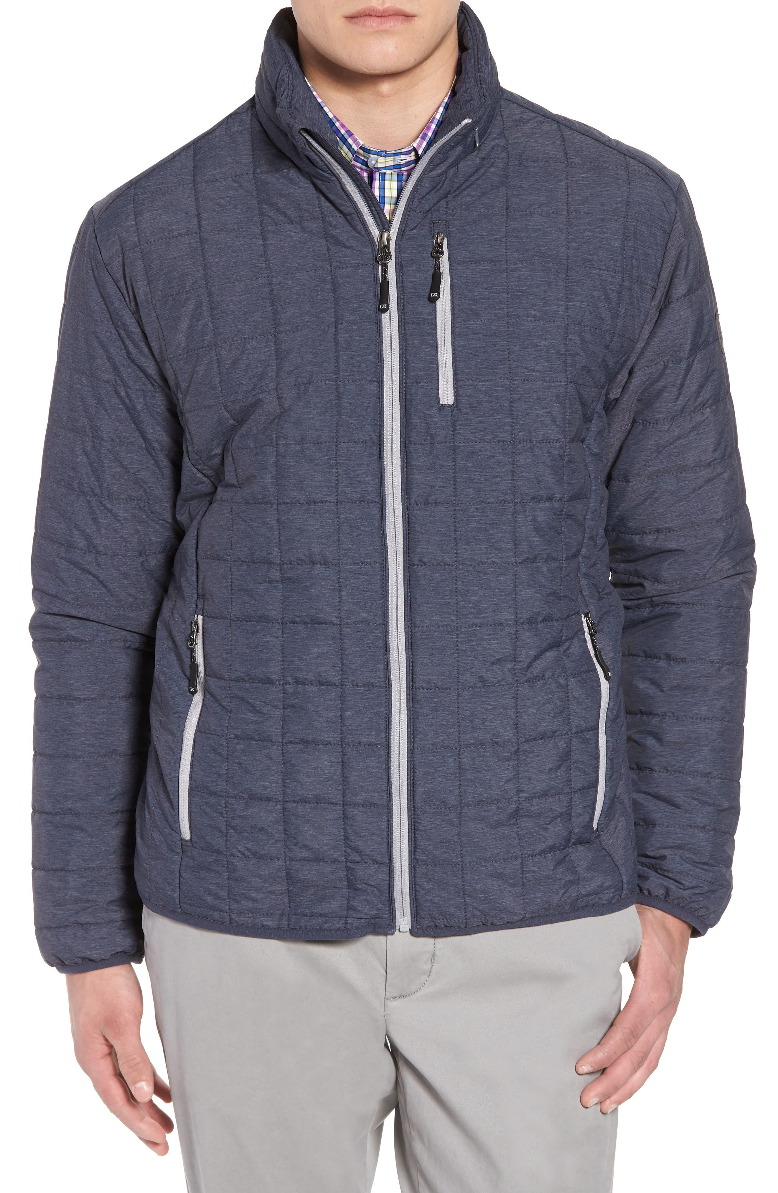 Cutter & Buck Rainier Classic Fit Jacket, Grey