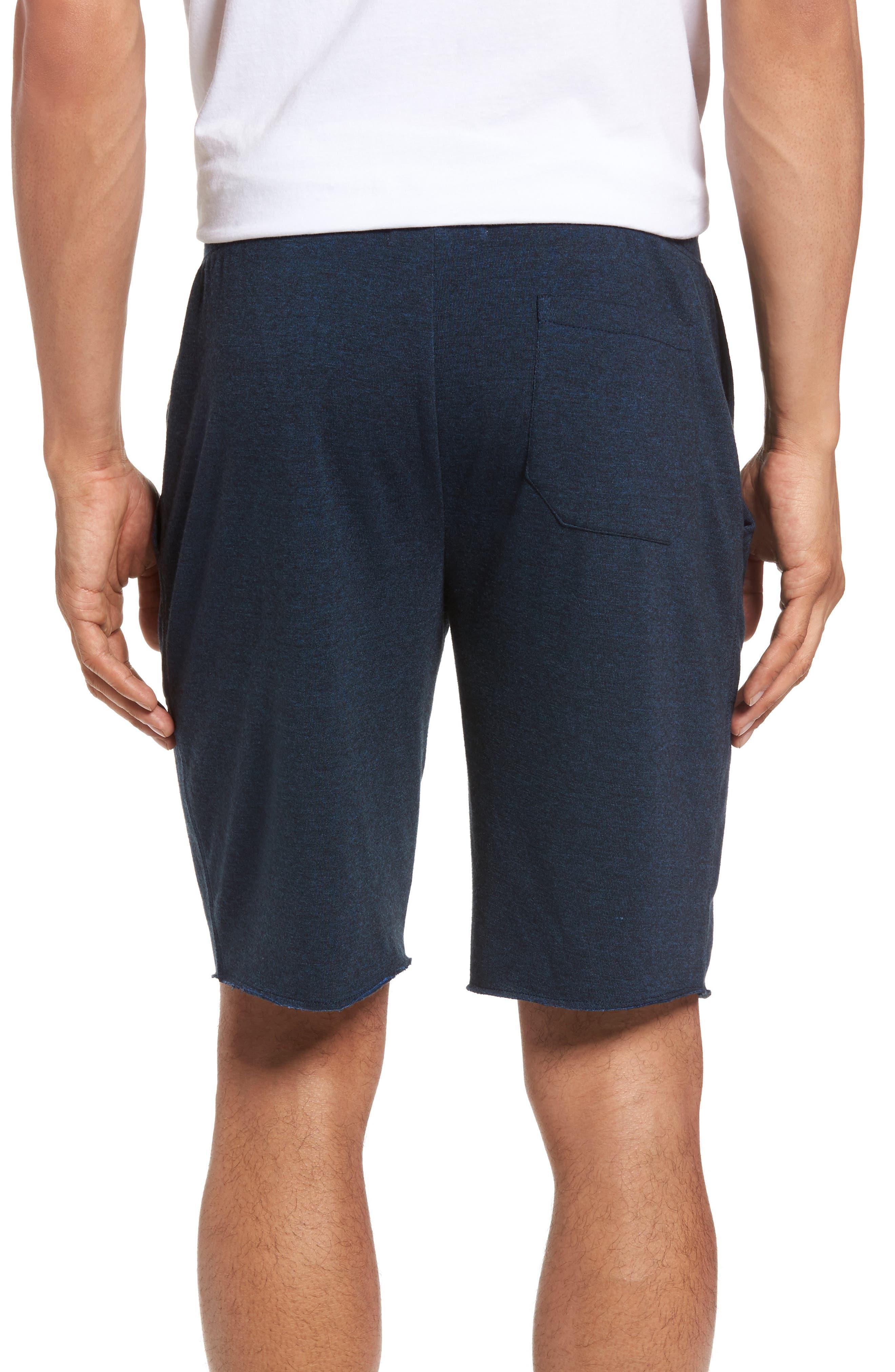 Fleece Shorts,                             Alternate thumbnail 2, color,                             NAVY PEACOAT