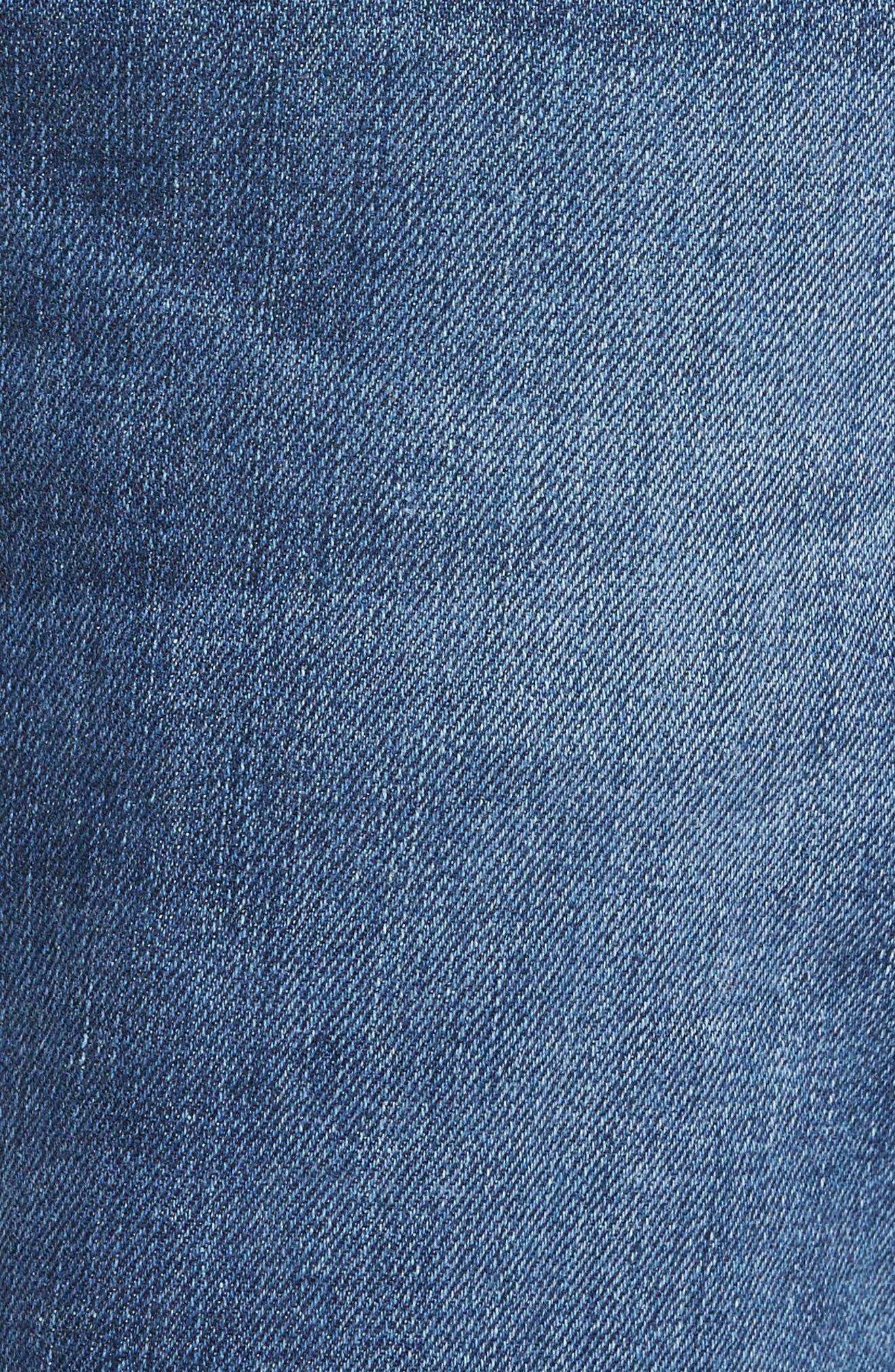 Byron Slim Straight Leg Jeans,                             Alternate thumbnail 5, color,                             421