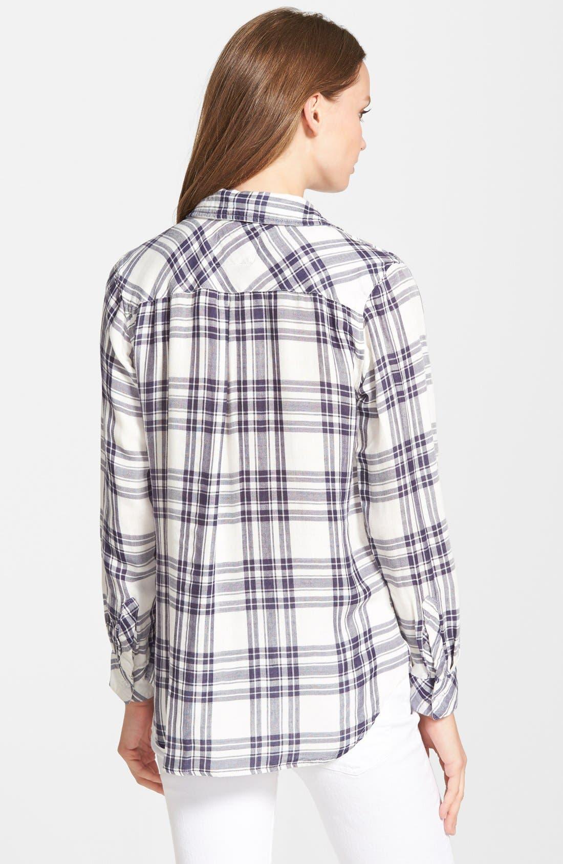 RAILS,                             'Kendra' Plaid Shirt,                             Alternate thumbnail 3, color,                             101