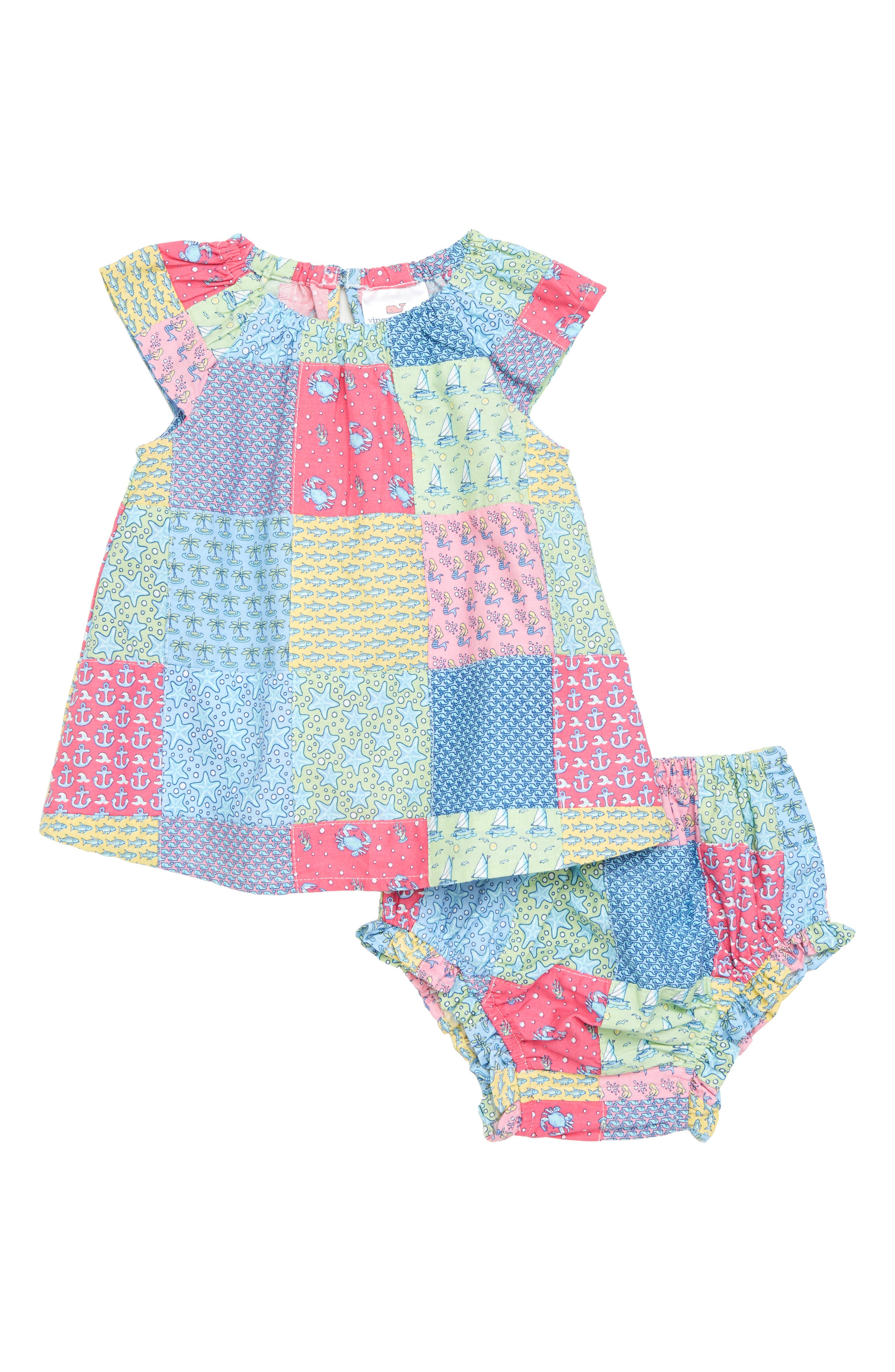 Patchwork Swing Dress,                         Main,                         color,
