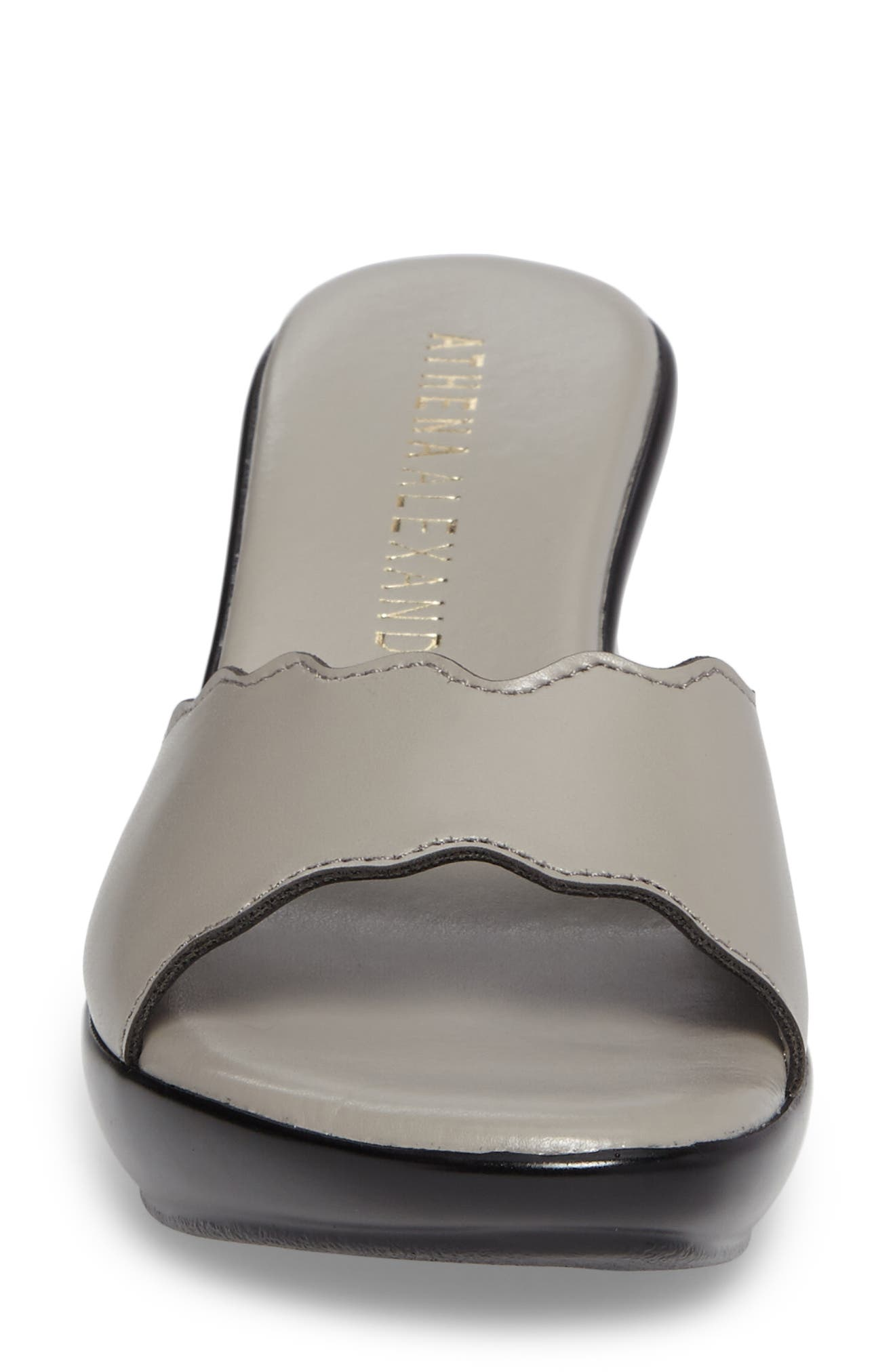Novva Sandal,                             Alternate thumbnail 4, color,                             GREY SYNTHETIC