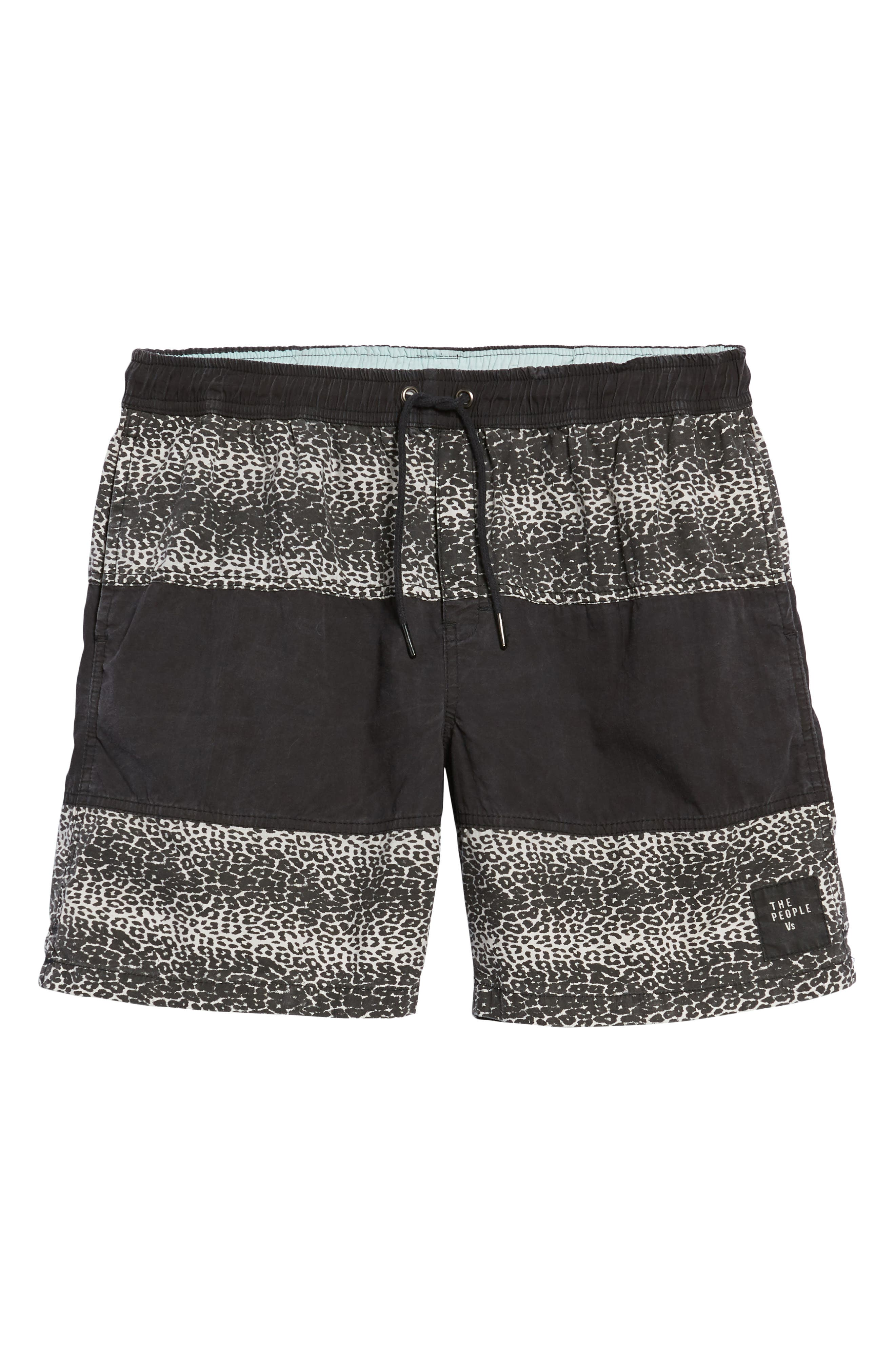Easy Boardie Shorts,                             Alternate thumbnail 6, color,                             SNOW LEOPARD