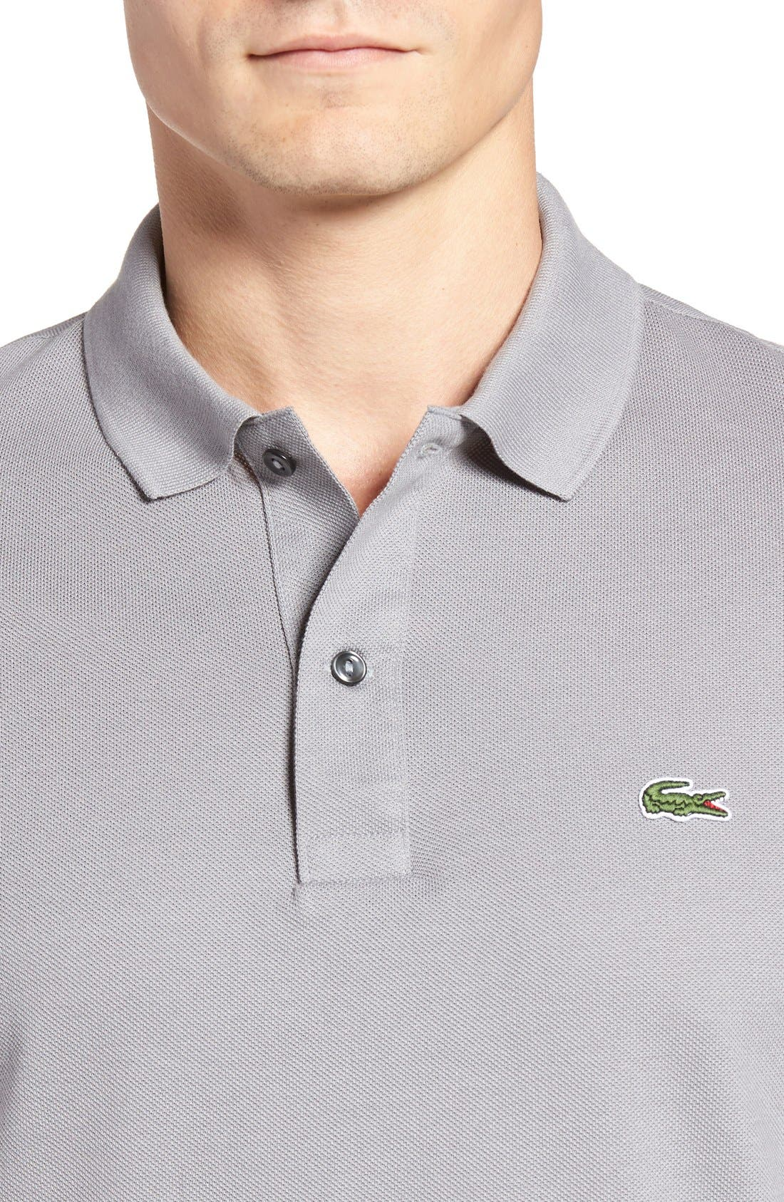 Slim Fit Piqué Polo,                             Alternate thumbnail 37, color,