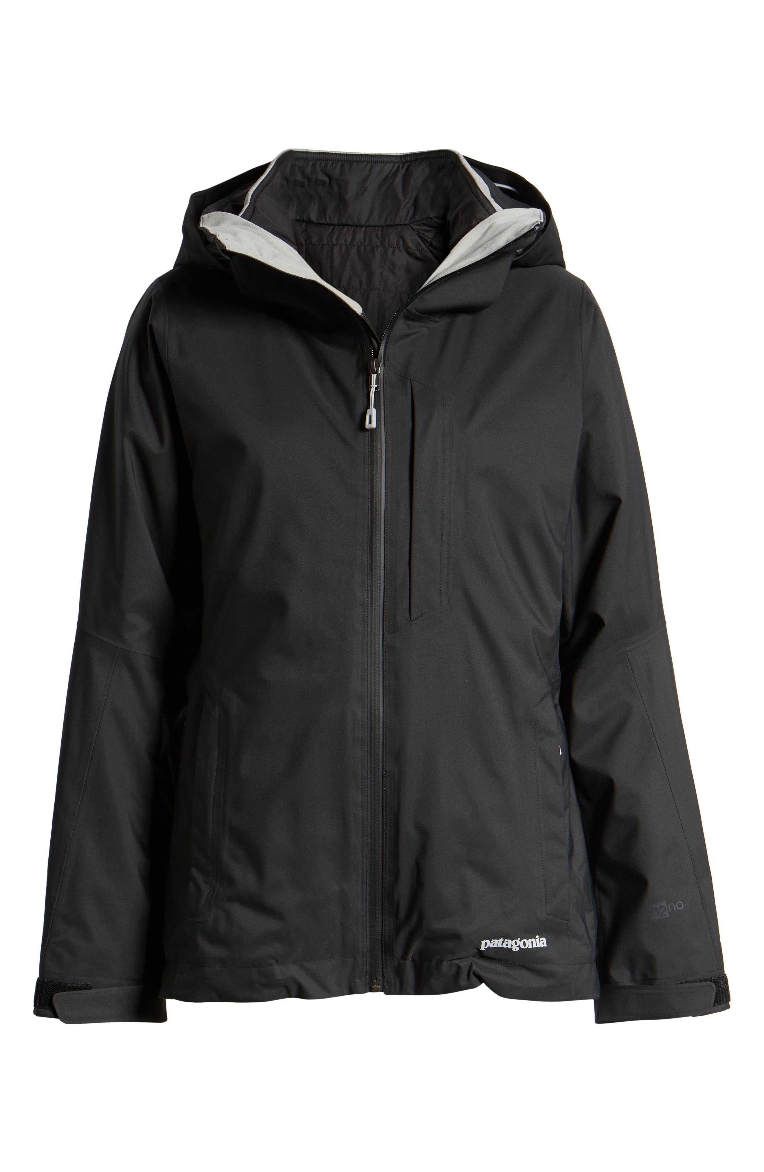 Snowbelle 3-in-1 Jacket,                             Alternate thumbnail 5, color,                             BLACK