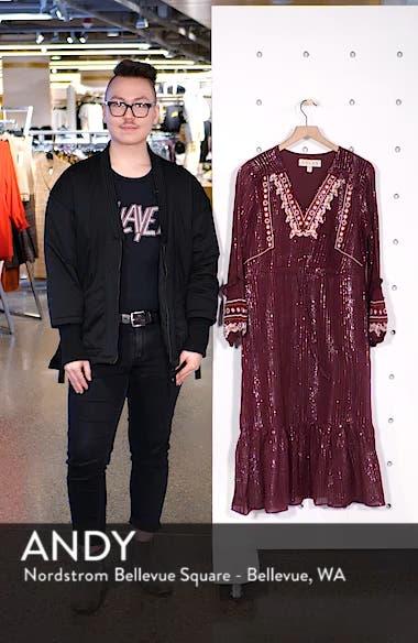 Rashida Embroidered Midi Dress, sales video thumbnail