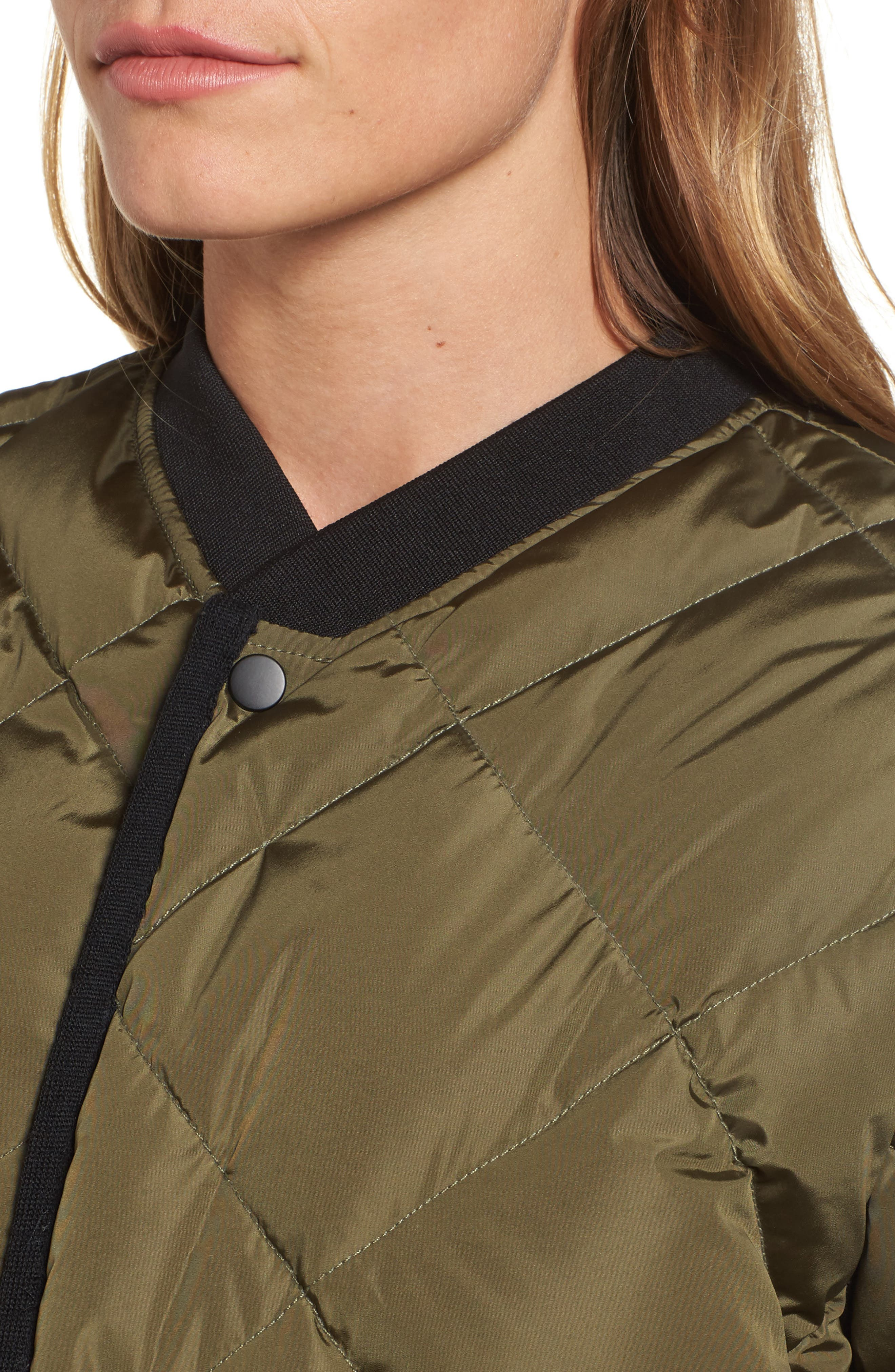Quilted Bomber Jacket,                             Alternate thumbnail 4, color,                             315