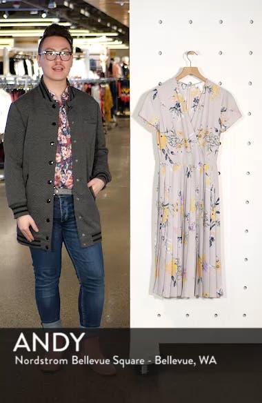 Pleated Surplice Dress, sales video thumbnail