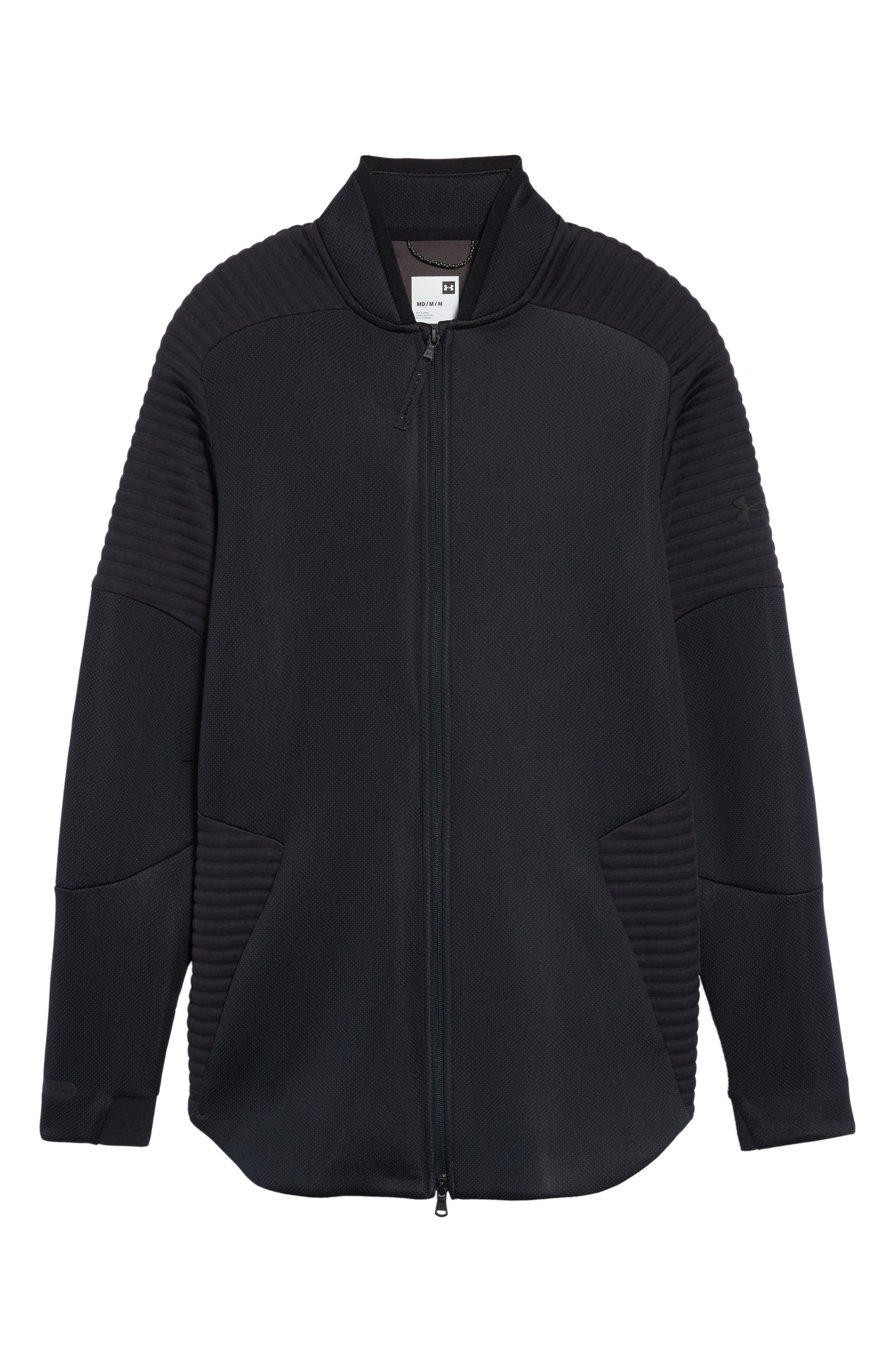Unstoppable /MOVE Jacket,                             Alternate thumbnail 7, color,                             BLACK/ CHARCOAL/ BLACK