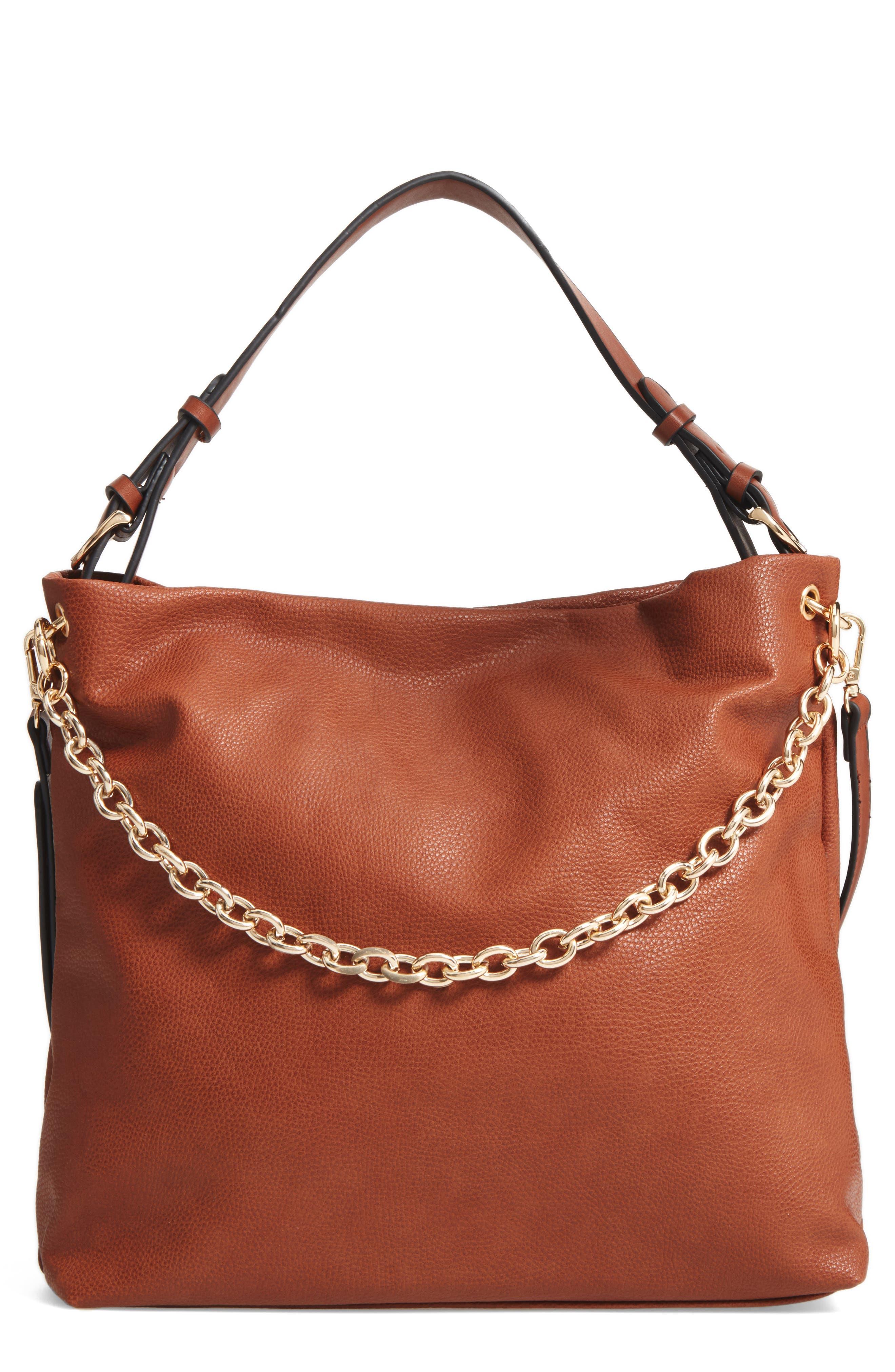 Taylor Faux Leather Shoulder Bag,                             Main thumbnail 3, color,