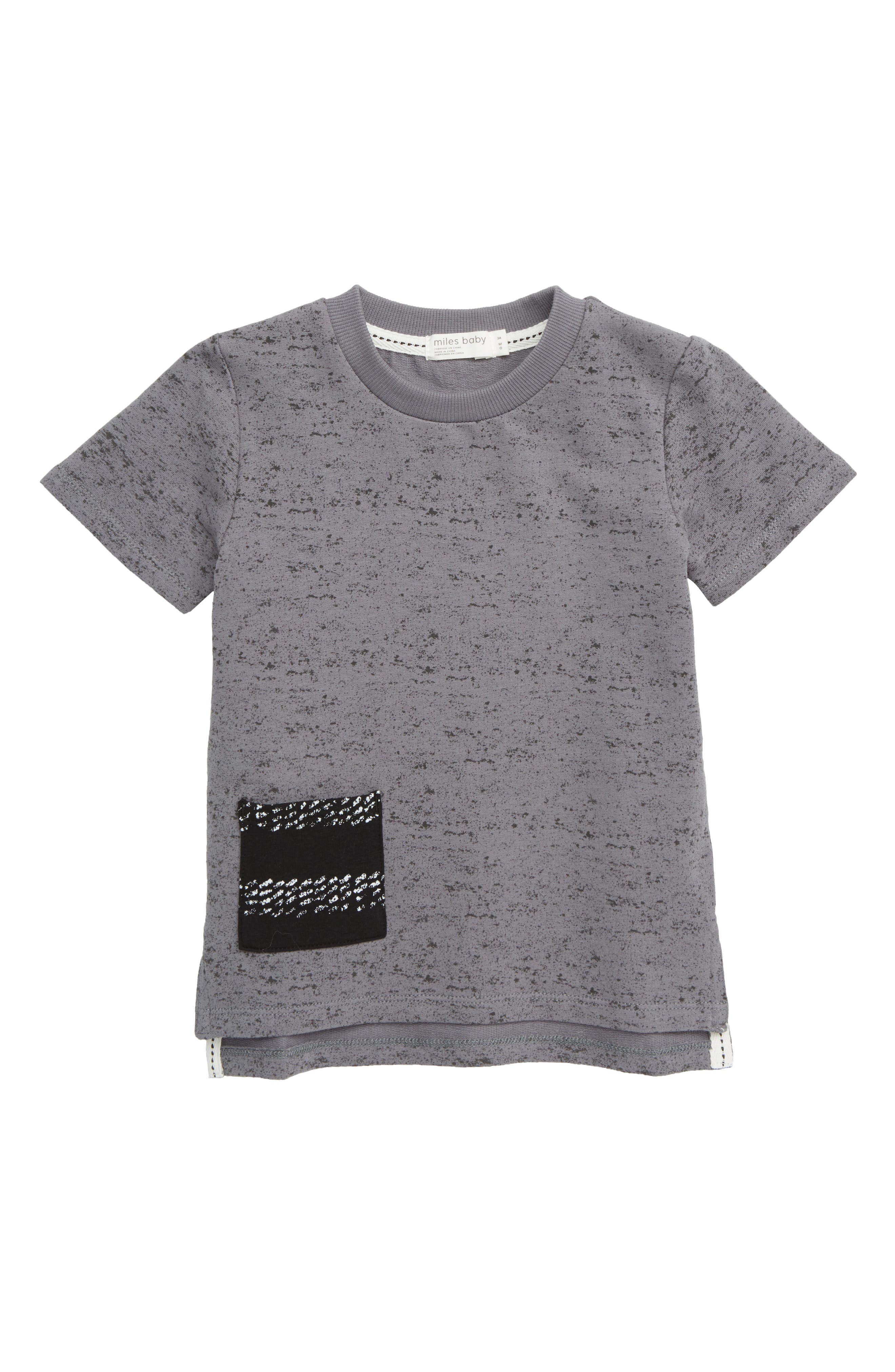 Pocket T-Shirt,                             Main thumbnail 1, color,                             MEDIUM GREY