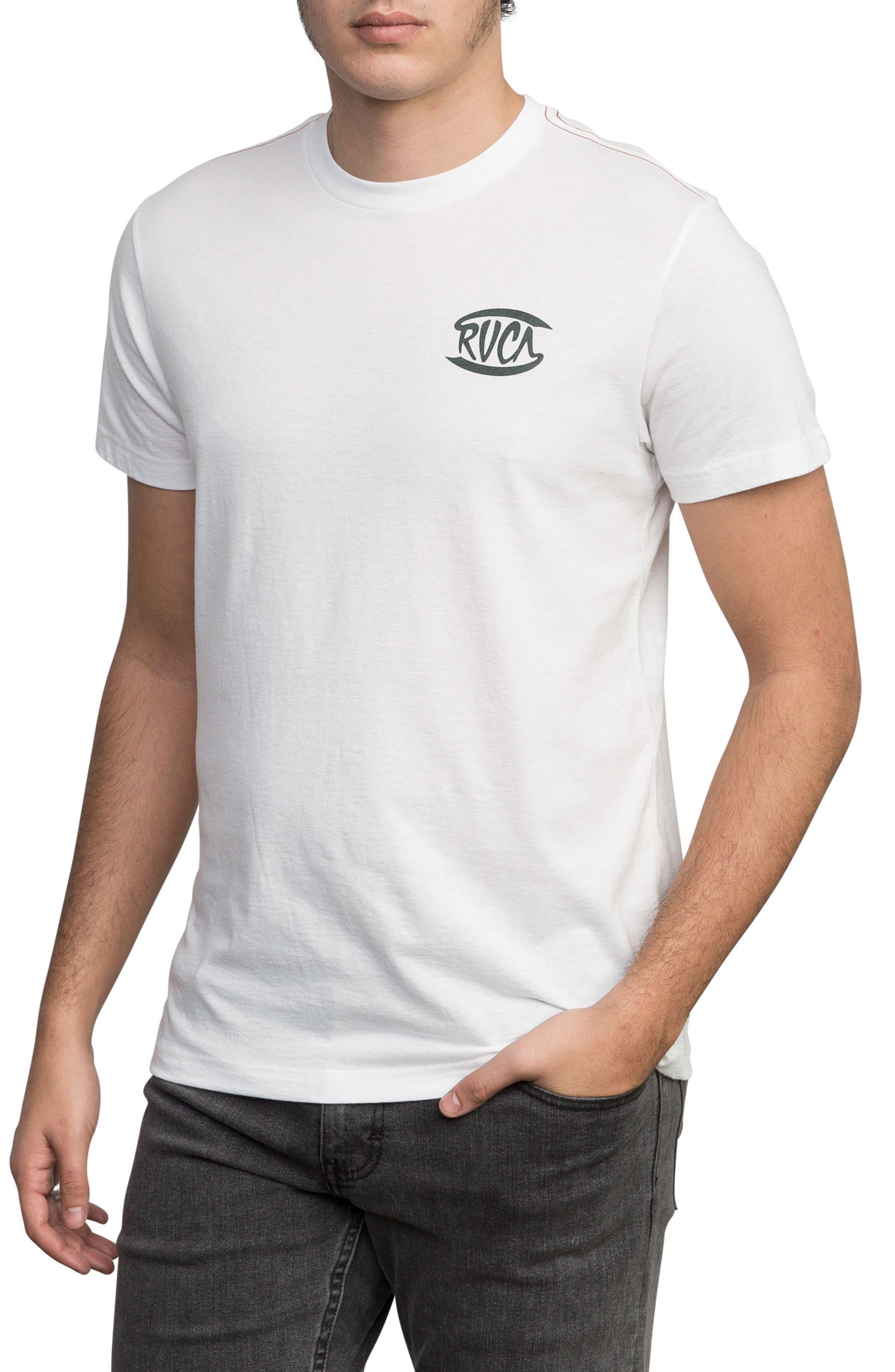 Clutch Logo Graphic T-Shirt,                             Alternate thumbnail 3, color,                             900