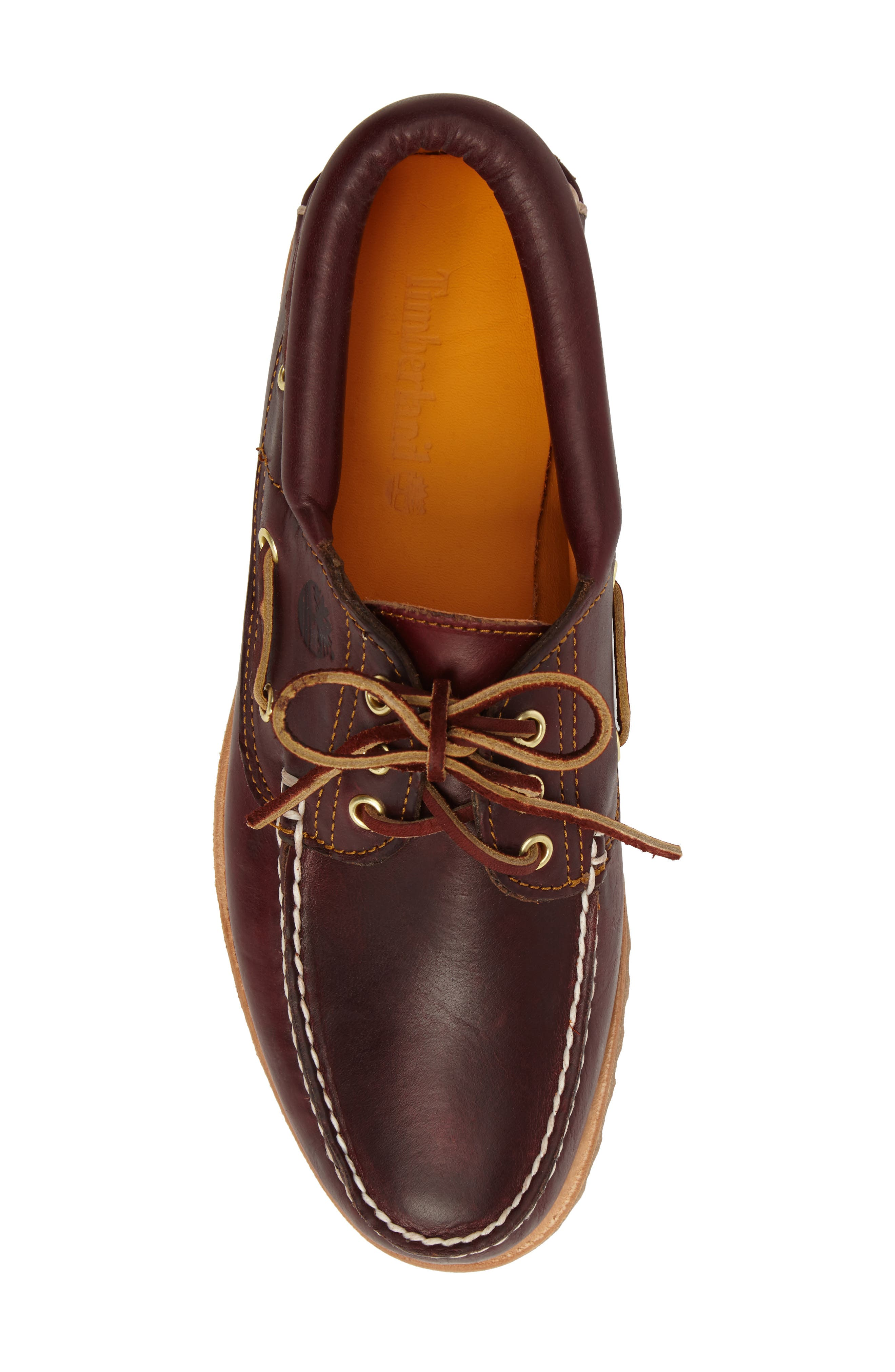 Authentic Boat Shoe,                             Alternate thumbnail 5, color,                             ROOTBEER LEATHER