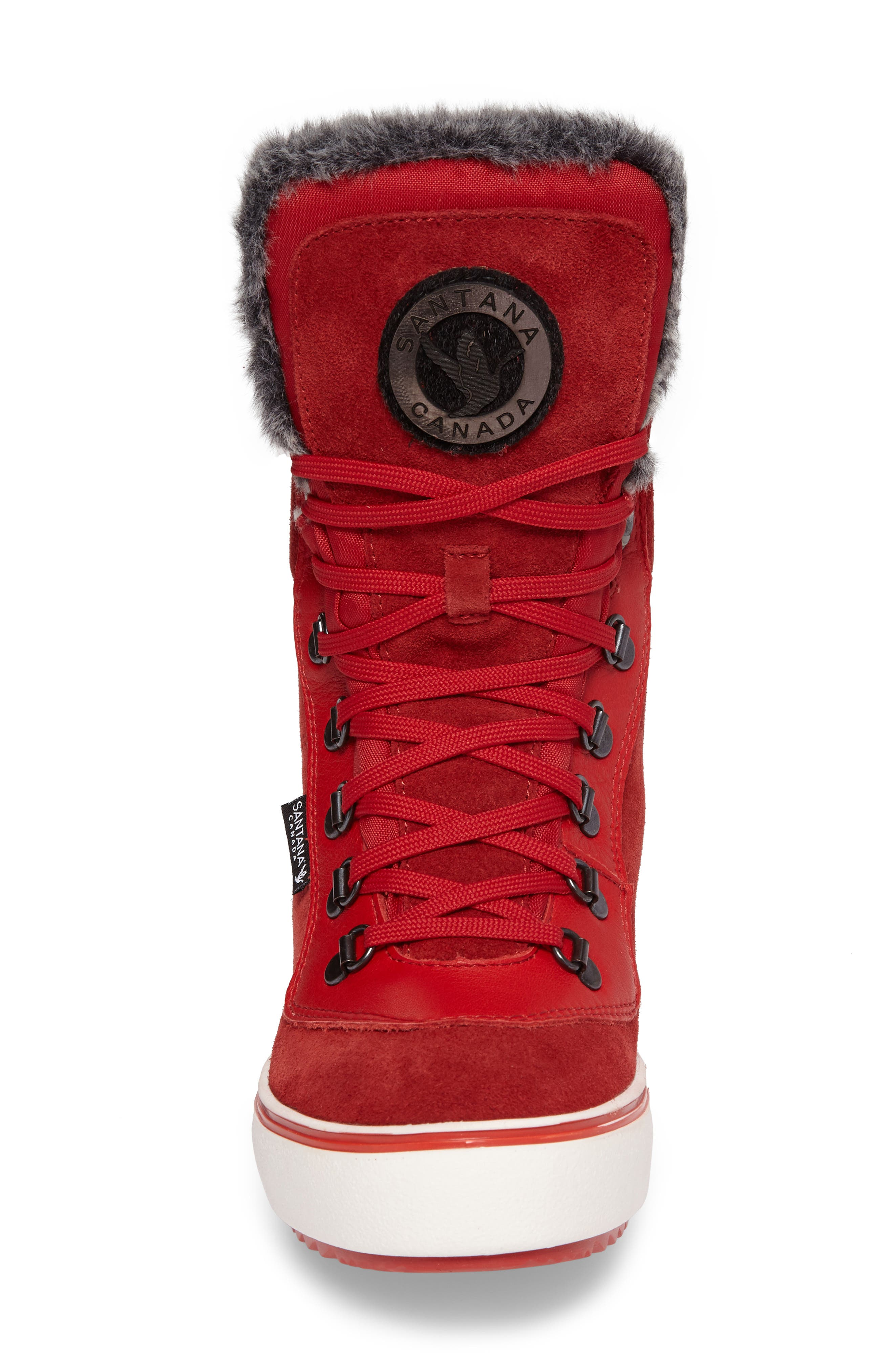 Mixx Faux Fur Waterproof Boot,                             Alternate thumbnail 12, color,
