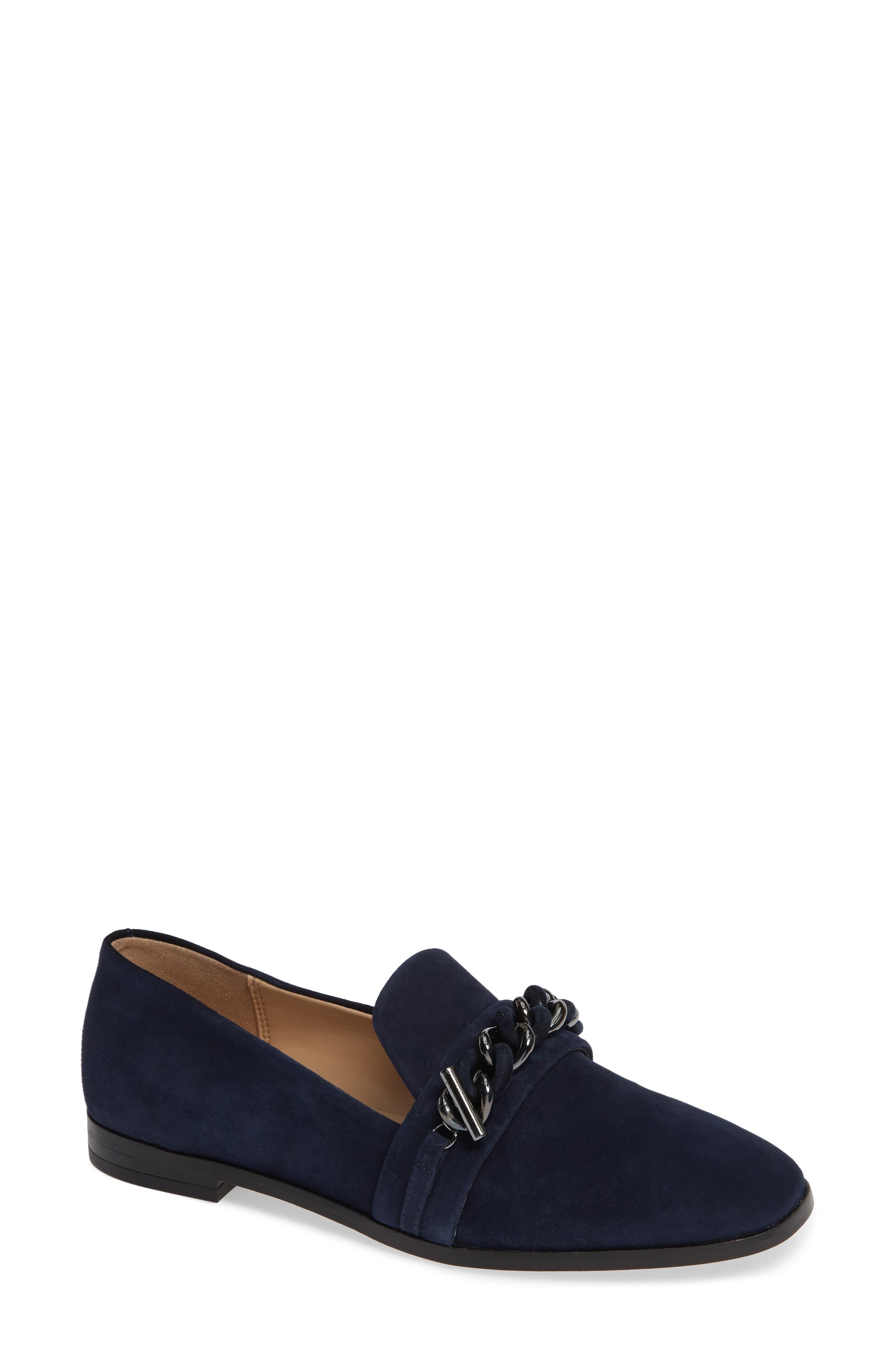 Karl Lagerfeld Paris Lynette Flat, Blue