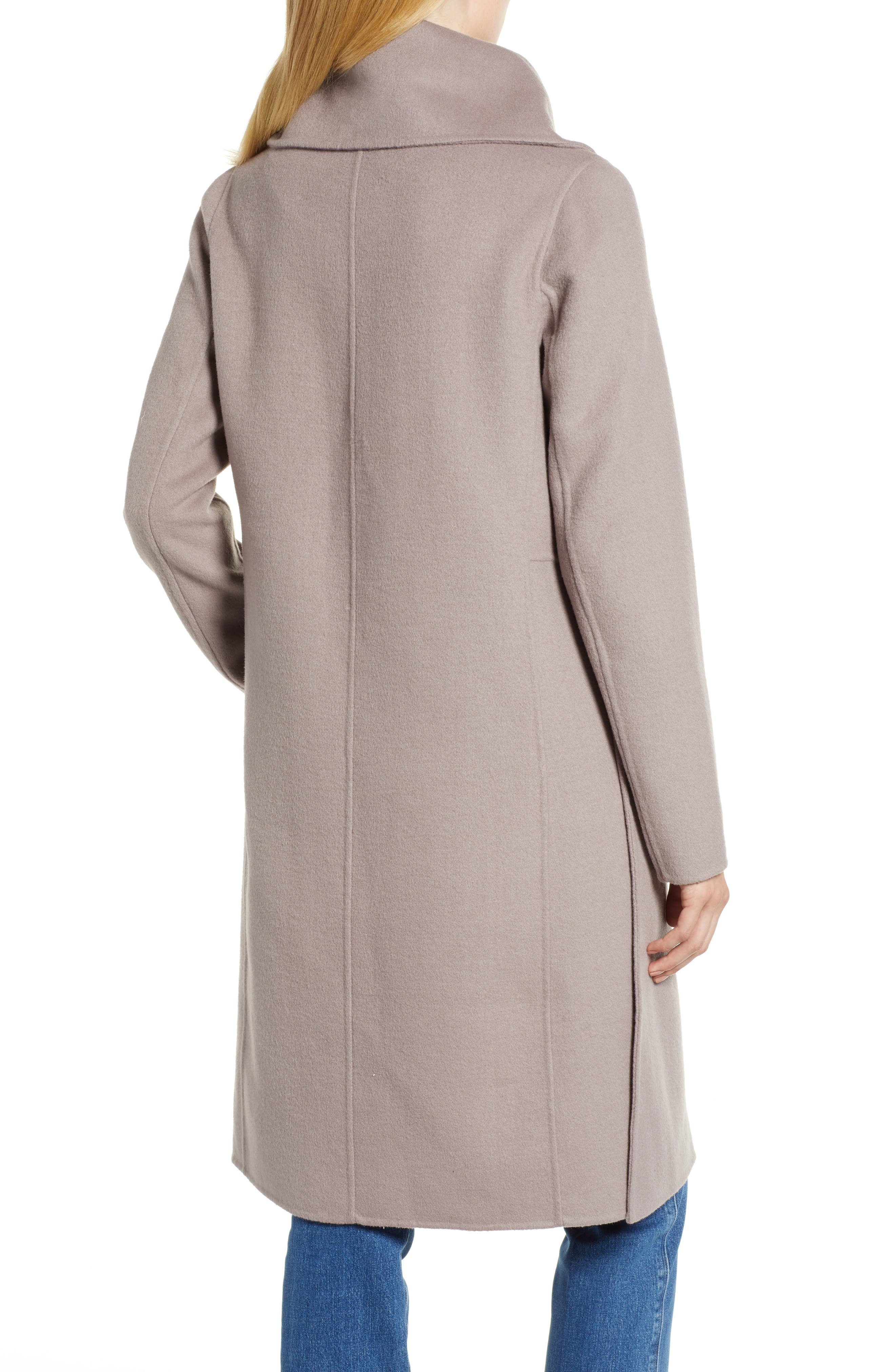 Double Faced Shawl Coat,                             Alternate thumbnail 2, color,                             420