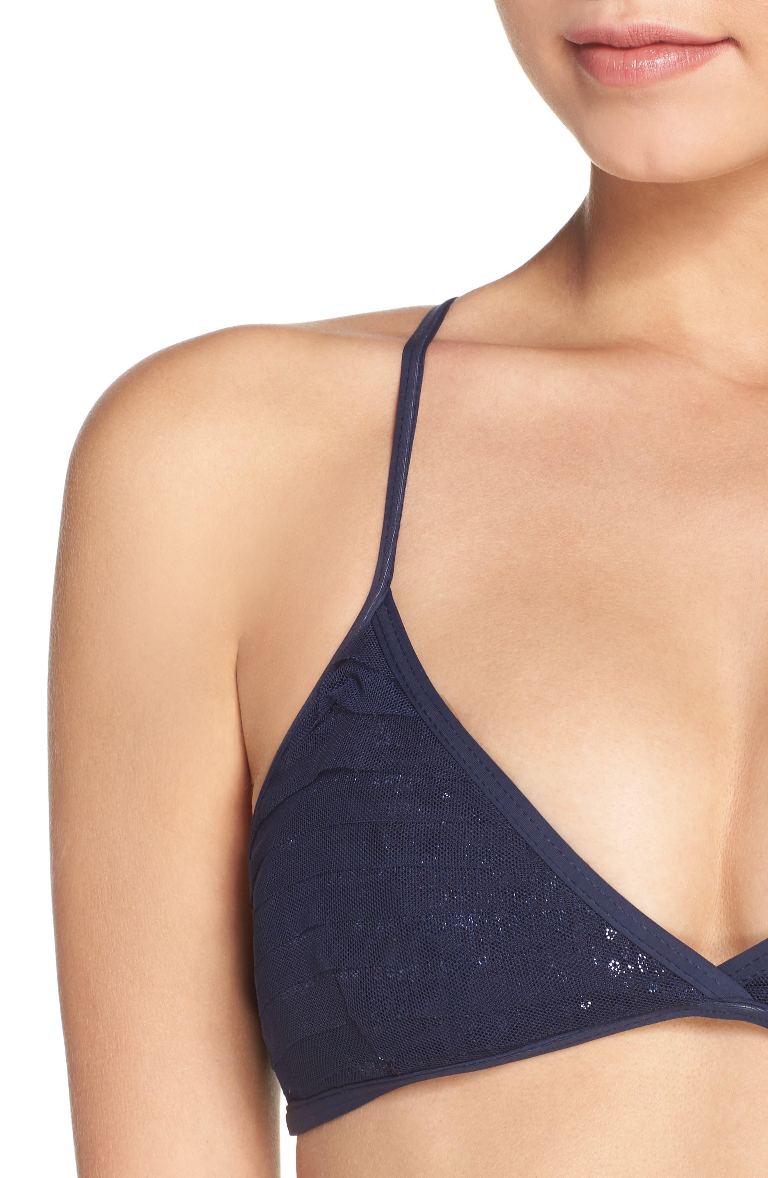 Sequin Bikini Top,                             Alternate thumbnail 5, color,                             401