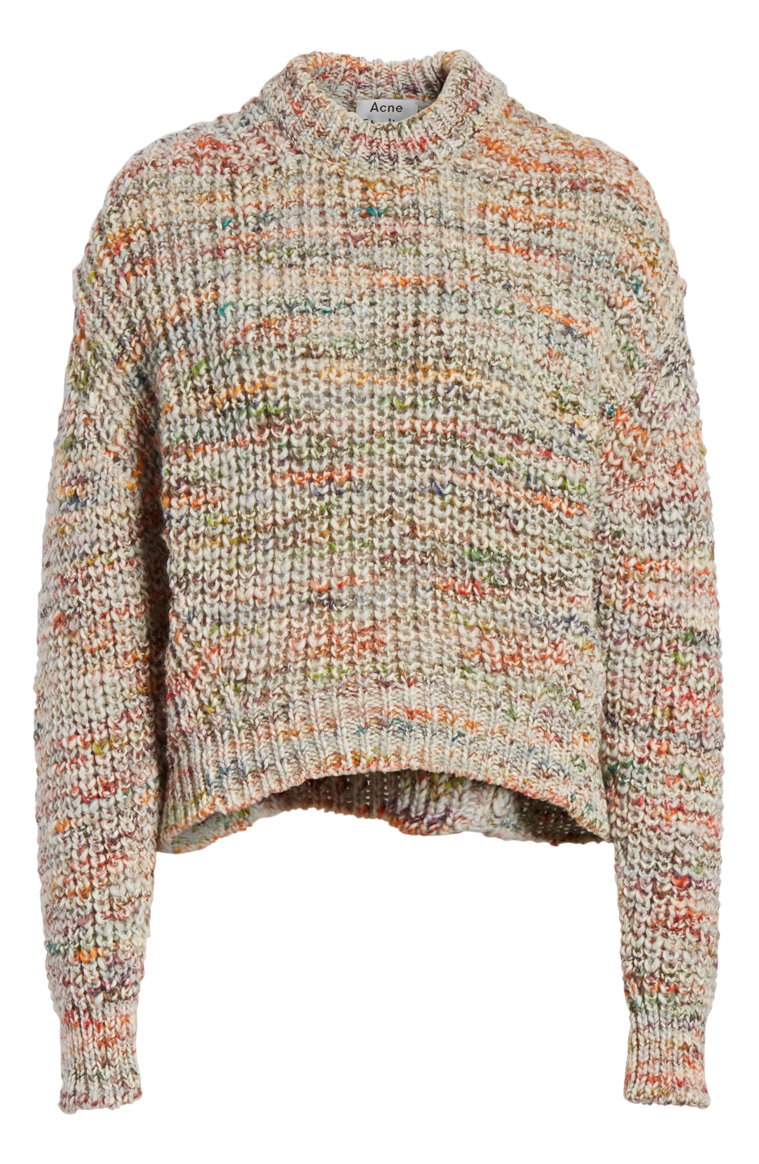Zora Multi Sweater,                             Alternate thumbnail 6, color,                             100