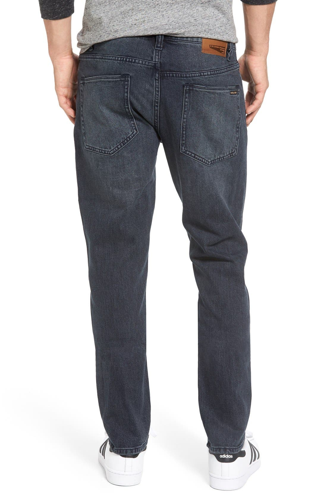 'Solver' Tapered Jeans,                             Alternate thumbnail 11, color,