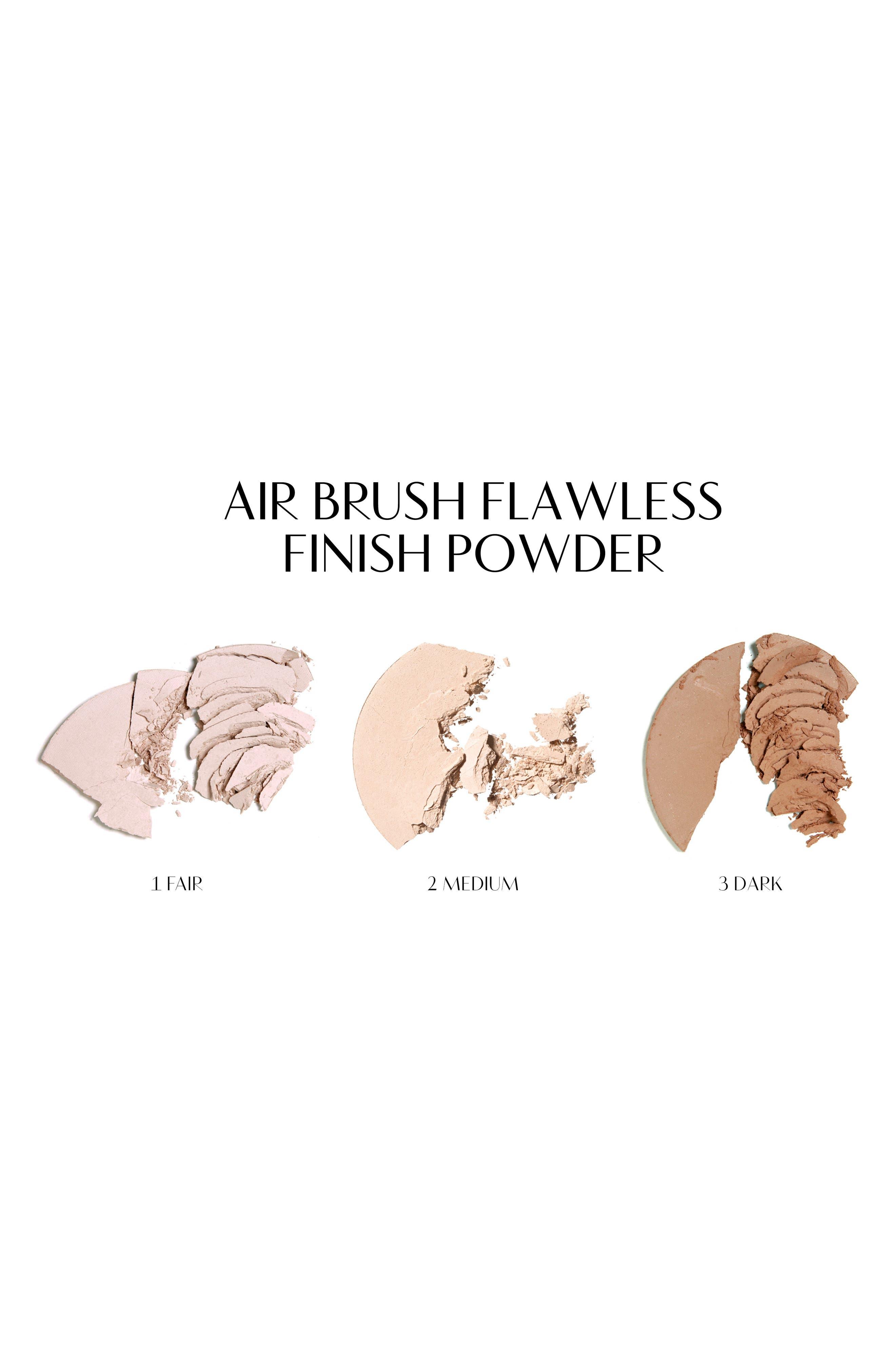 Airbrush Flawless Finish Setting Powder,                             Alternate thumbnail 3, color,                             3 DARK