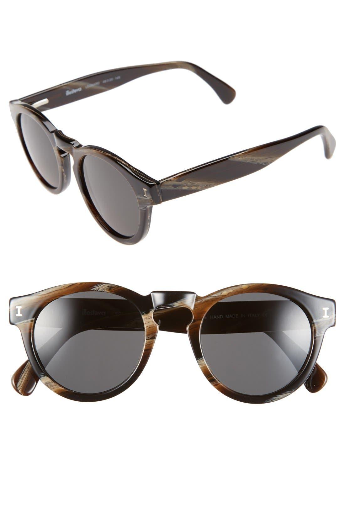 'Leonard' 47mm Sunglasses,                             Main thumbnail 57, color,