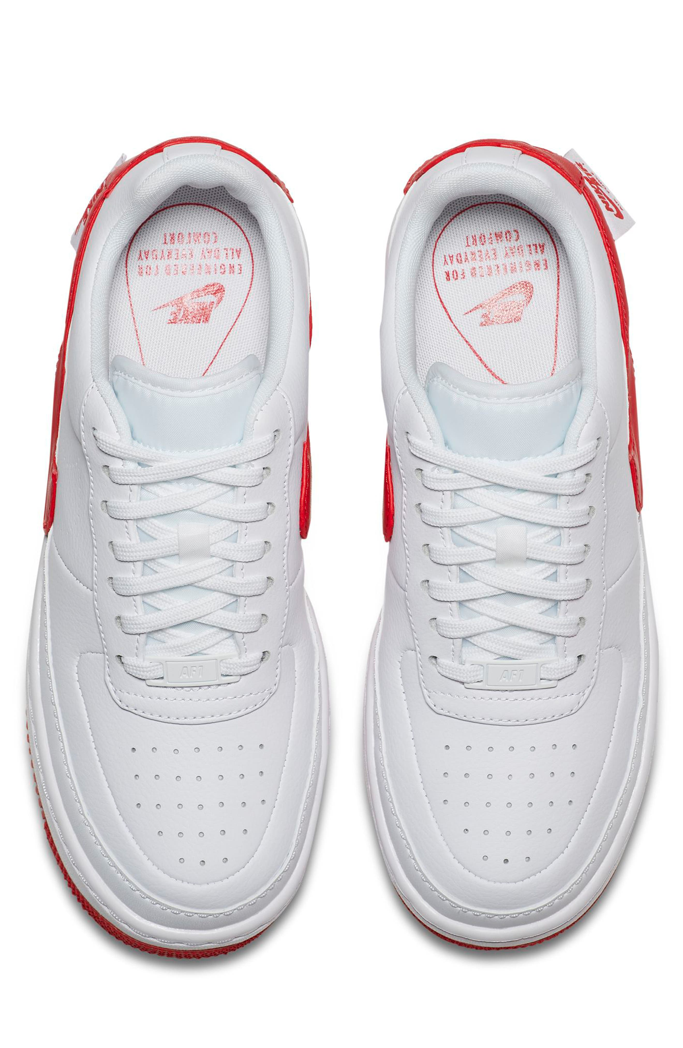 Air Force 1 Jester XX Sneaker,                             Alternate thumbnail 4, color,                             WHITE