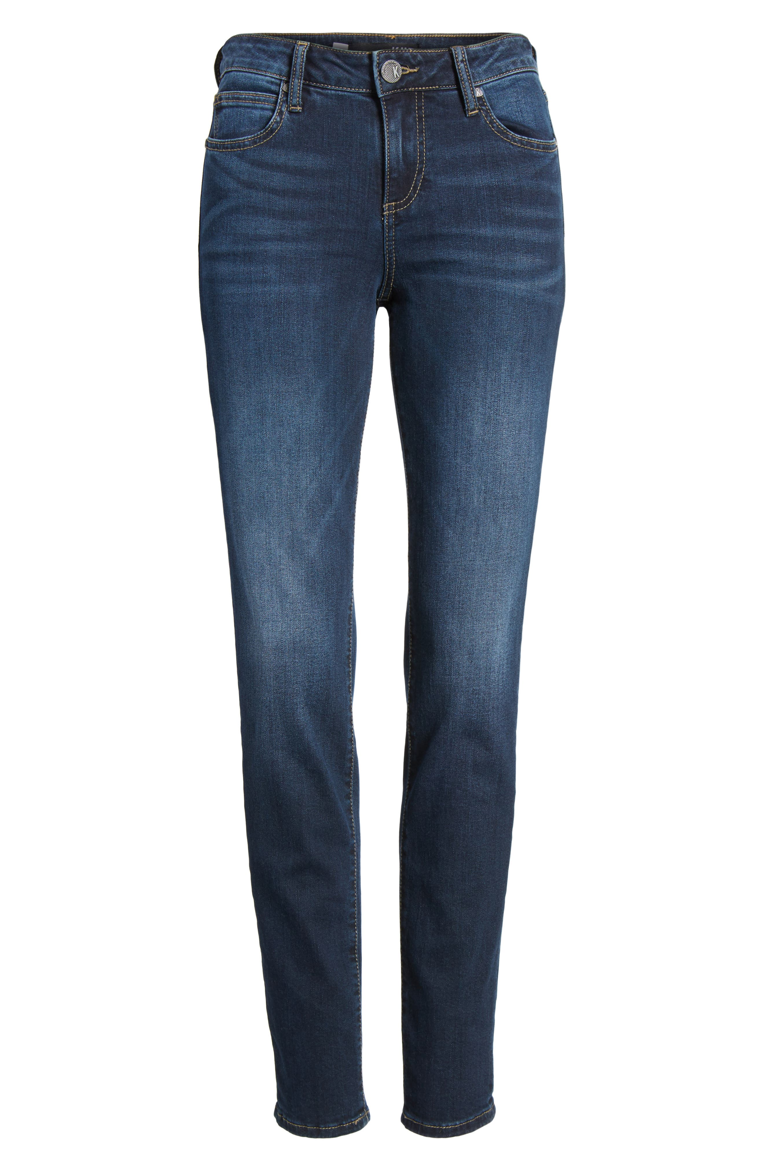 Diana Curvy Fit Skinny Jeans,                             Alternate thumbnail 6, color,                             473