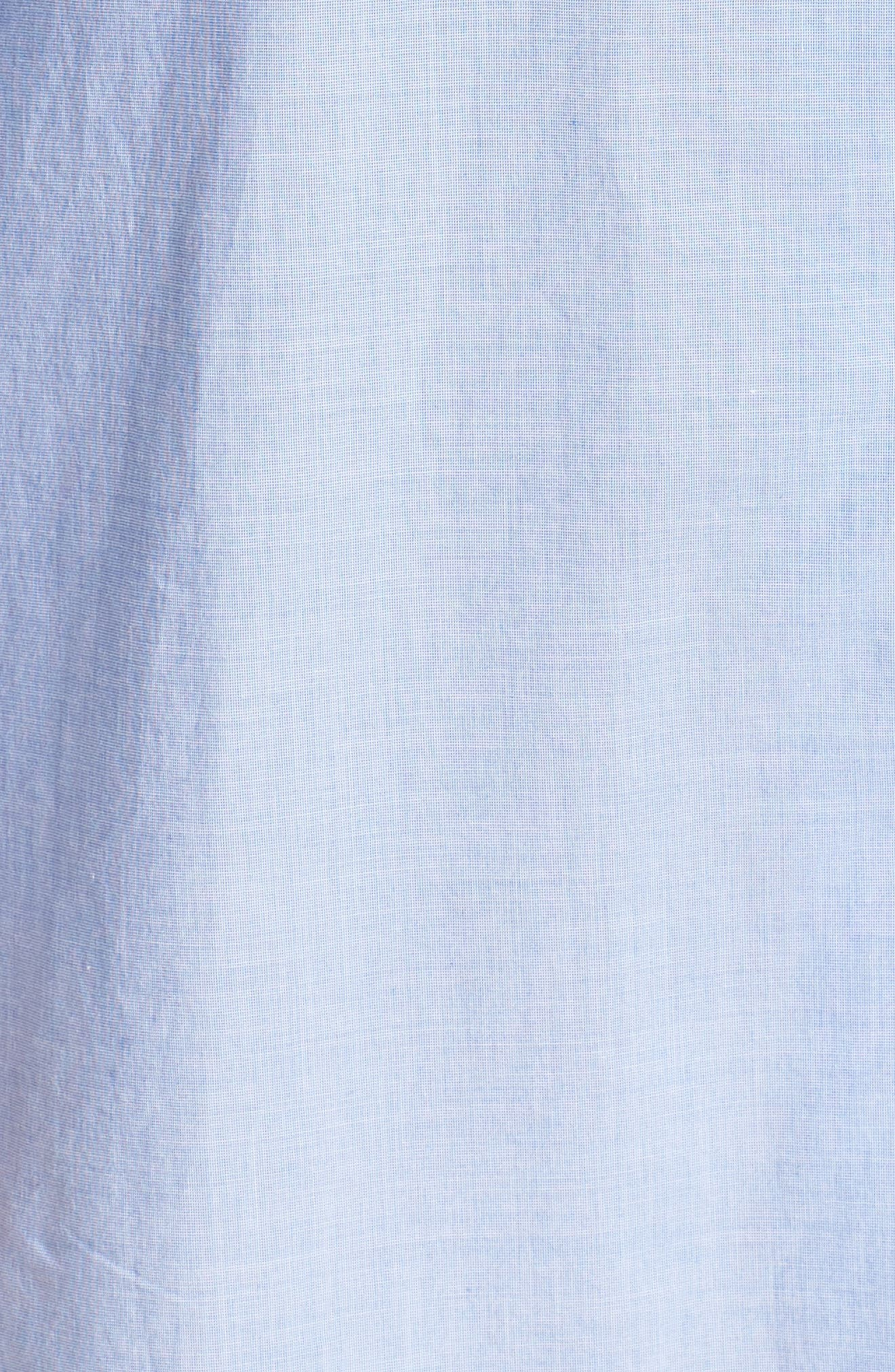 Woven Nightshirt,                             Alternate thumbnail 5, color,