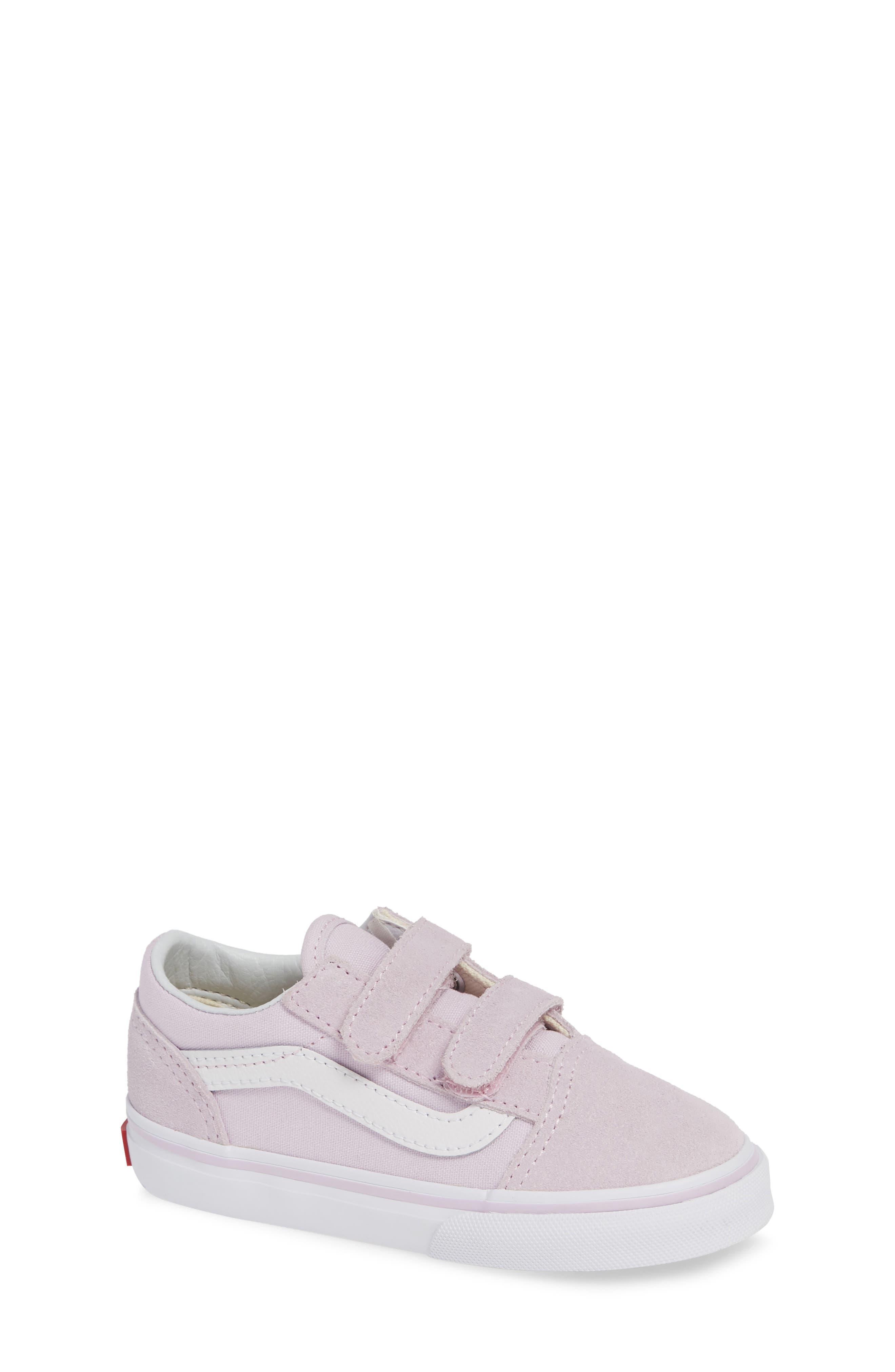 'Old Skool V' Sneaker,                             Main thumbnail 1, color,                             LAVENDER FOG/ TRUE WHITE